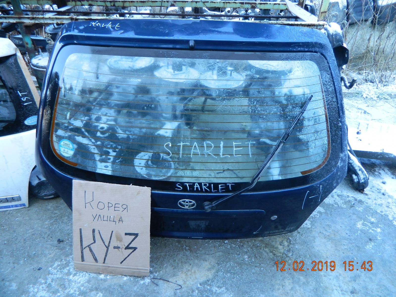 Дверь 5-я Toyota Starlet EP81 (б/у)