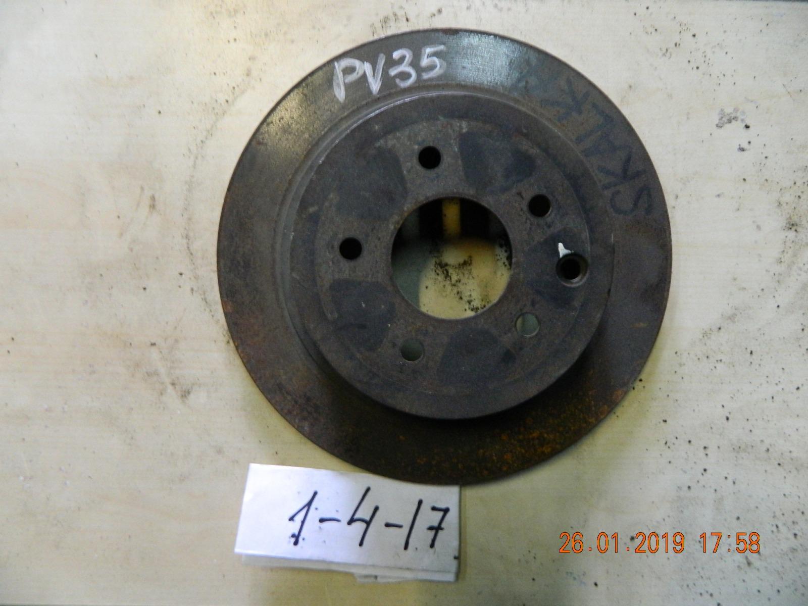 Тормозной диск Nissan Skyline CPV35 задний (б/у)