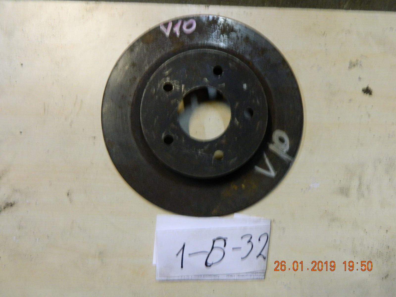 Тормозной диск Nissan Tino PV10 задний (б/у)