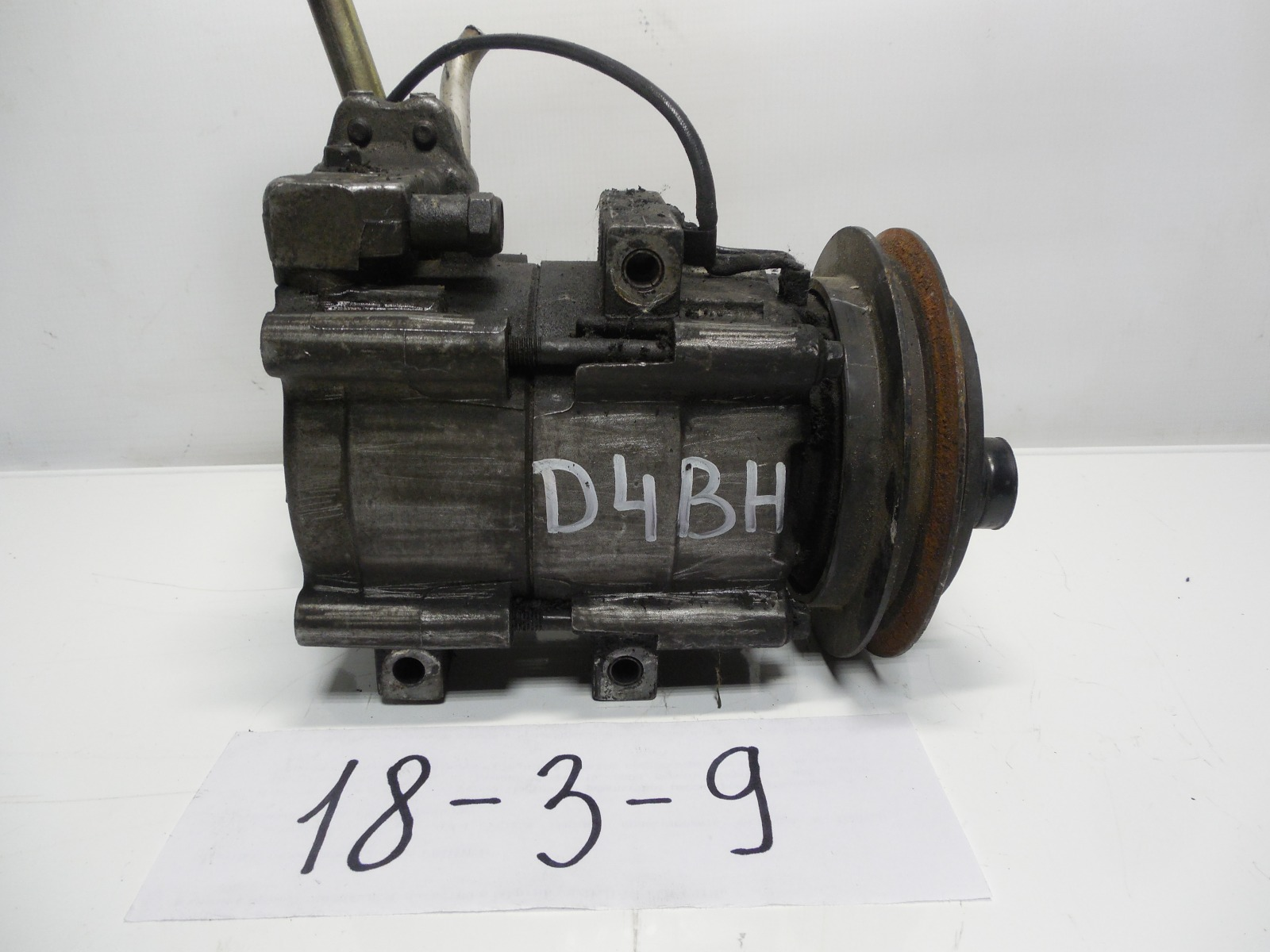 Компрессор кондиционера Hyundai Galloper D4BH (б/у)