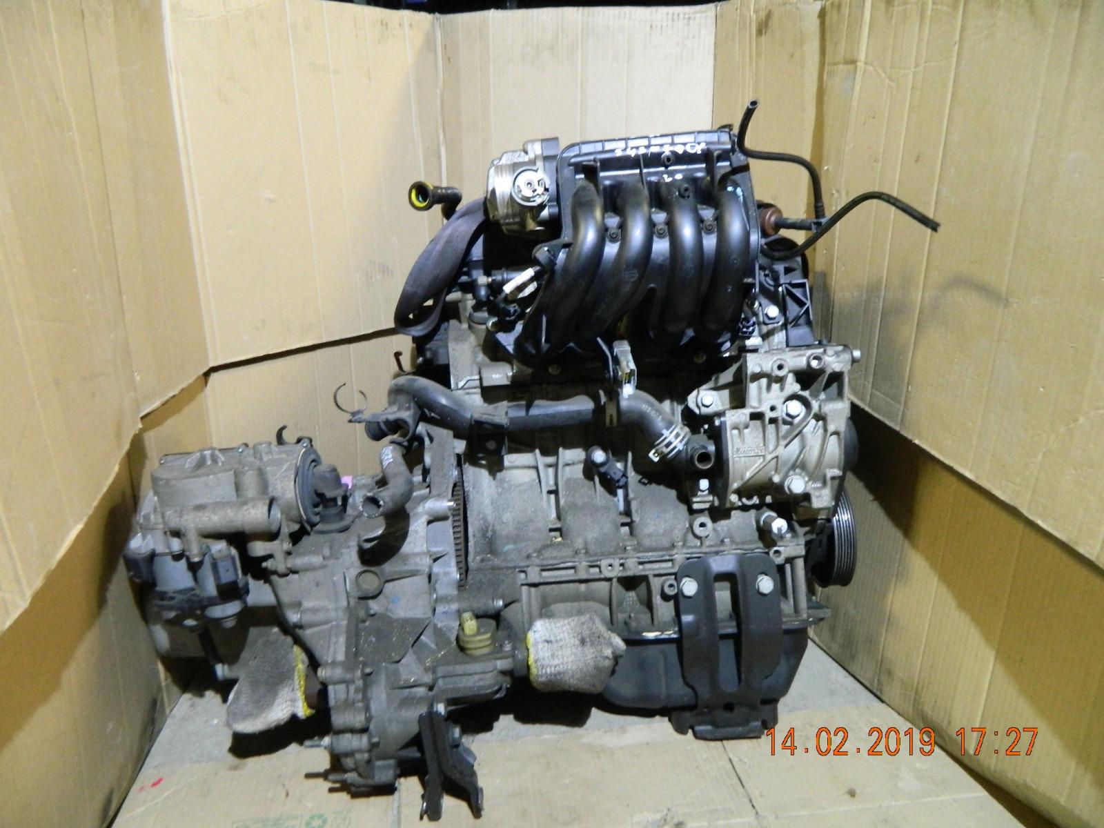 Двигатель Citroen C3 KFV (б/у)
