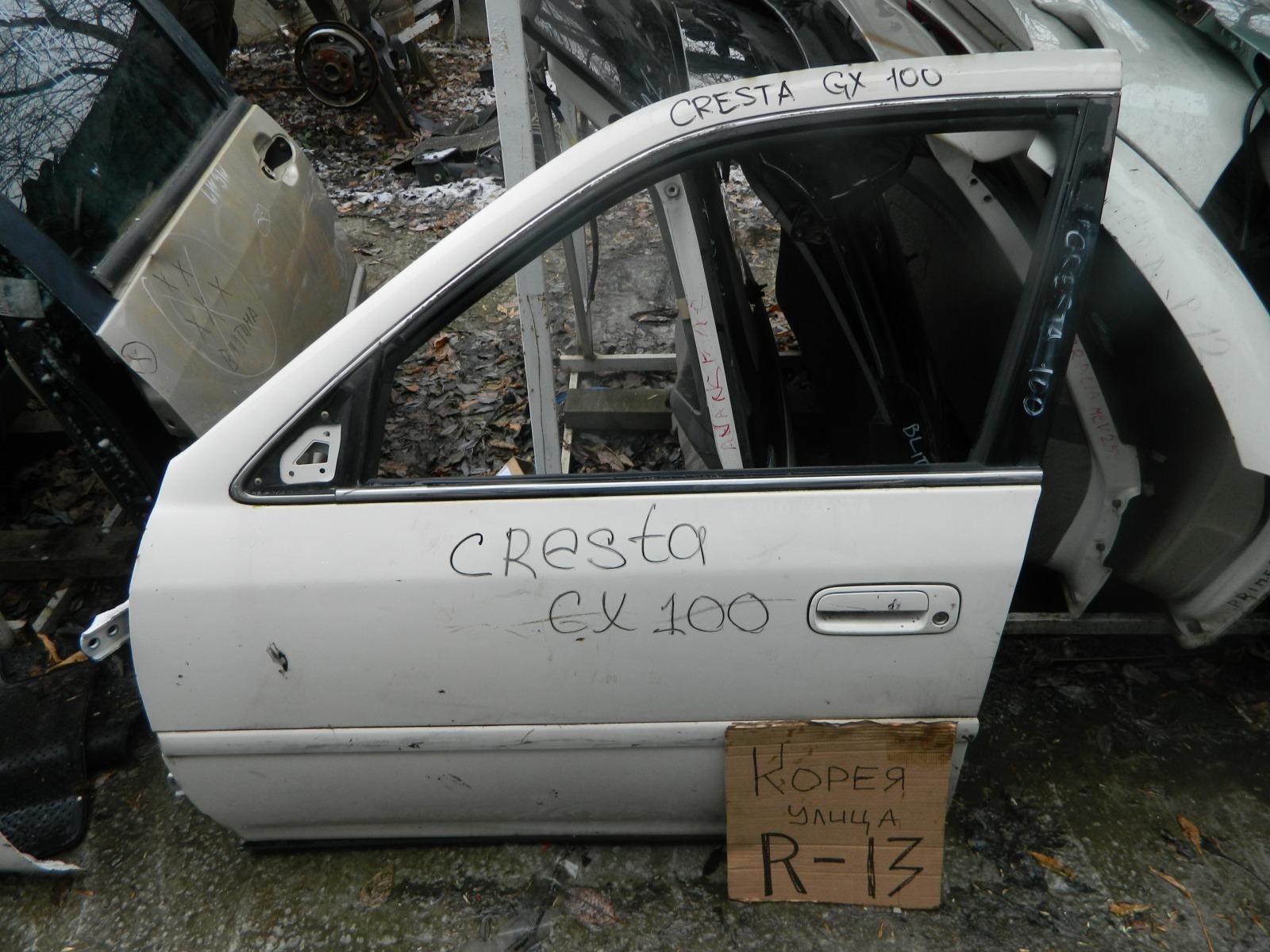 Дверь Toyota Chaser GX100 передняя левая (б/у)