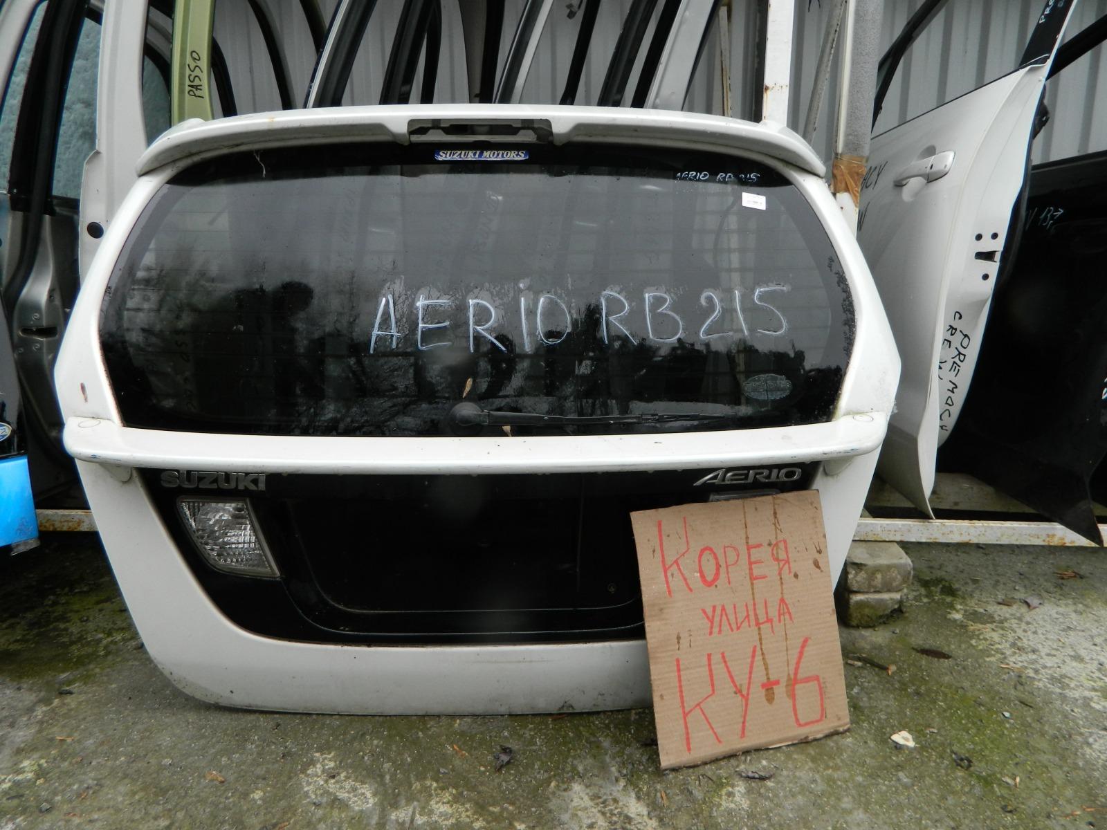 Дверь 5-я Suzuki Aerio RB21 (б/у)