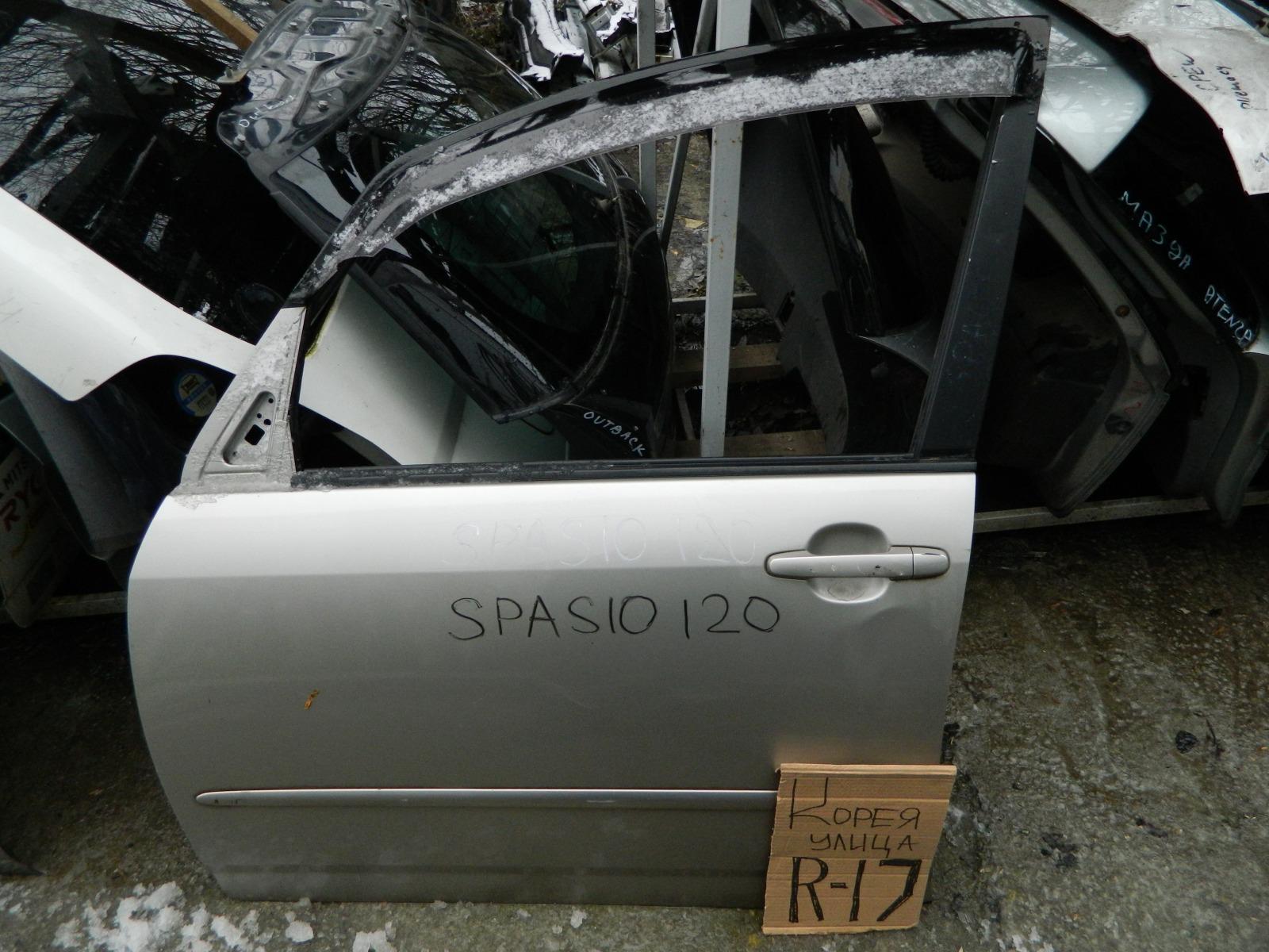 Дверь Toyota Spacio NZE120 передняя левая (б/у)