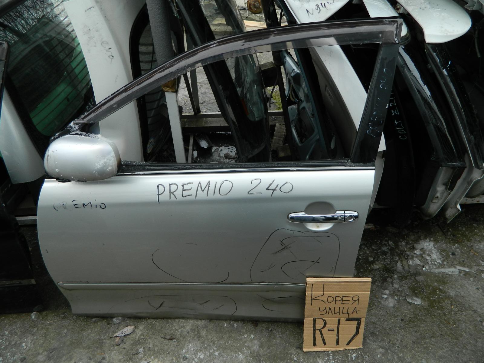 Дверь Toyota Corona Premio ZZT240 передняя левая (б/у)