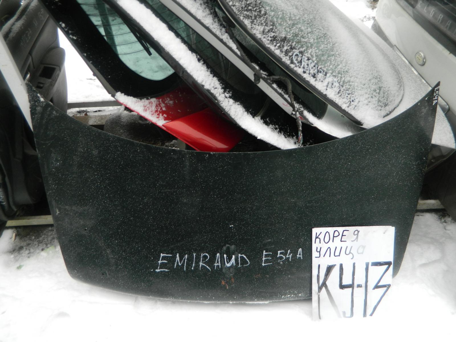 Крышка багажника Mitsubishi Emeraude E54A (б/у)