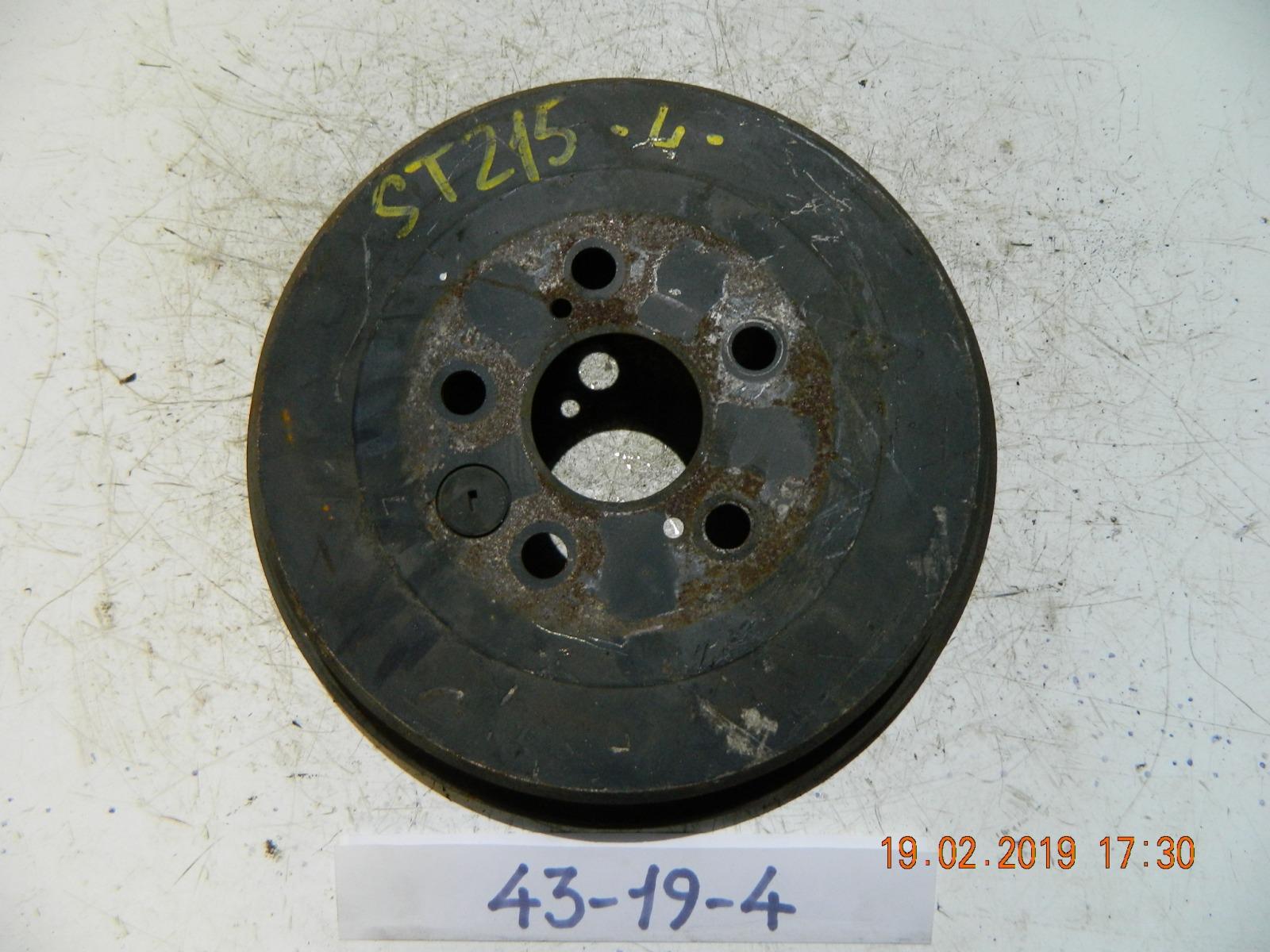 Тормозной барабан Toyota Caldina ST210 задний (б/у)