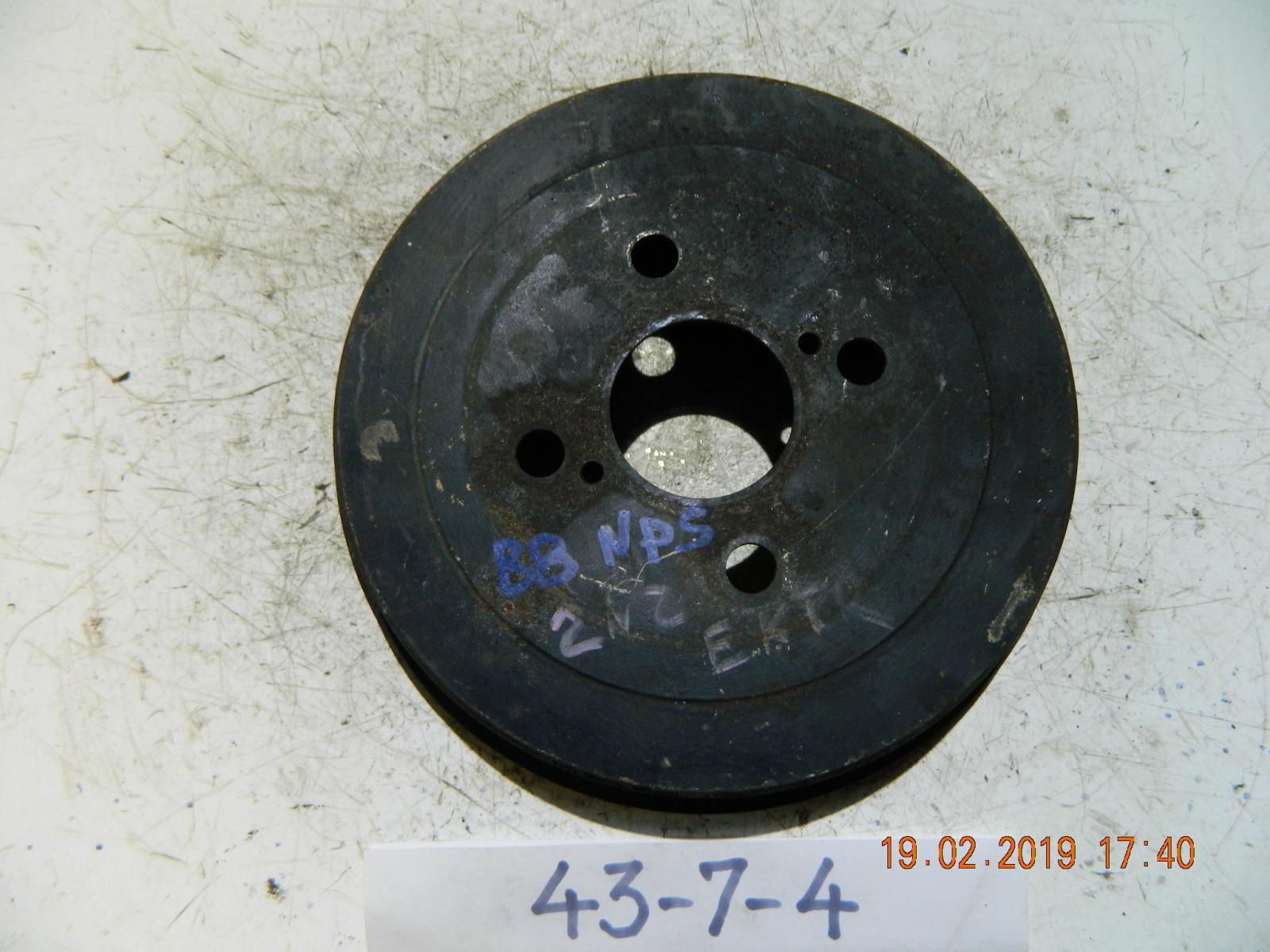 Тормозной барабан Toyota Bb NCP31 задний (б/у)