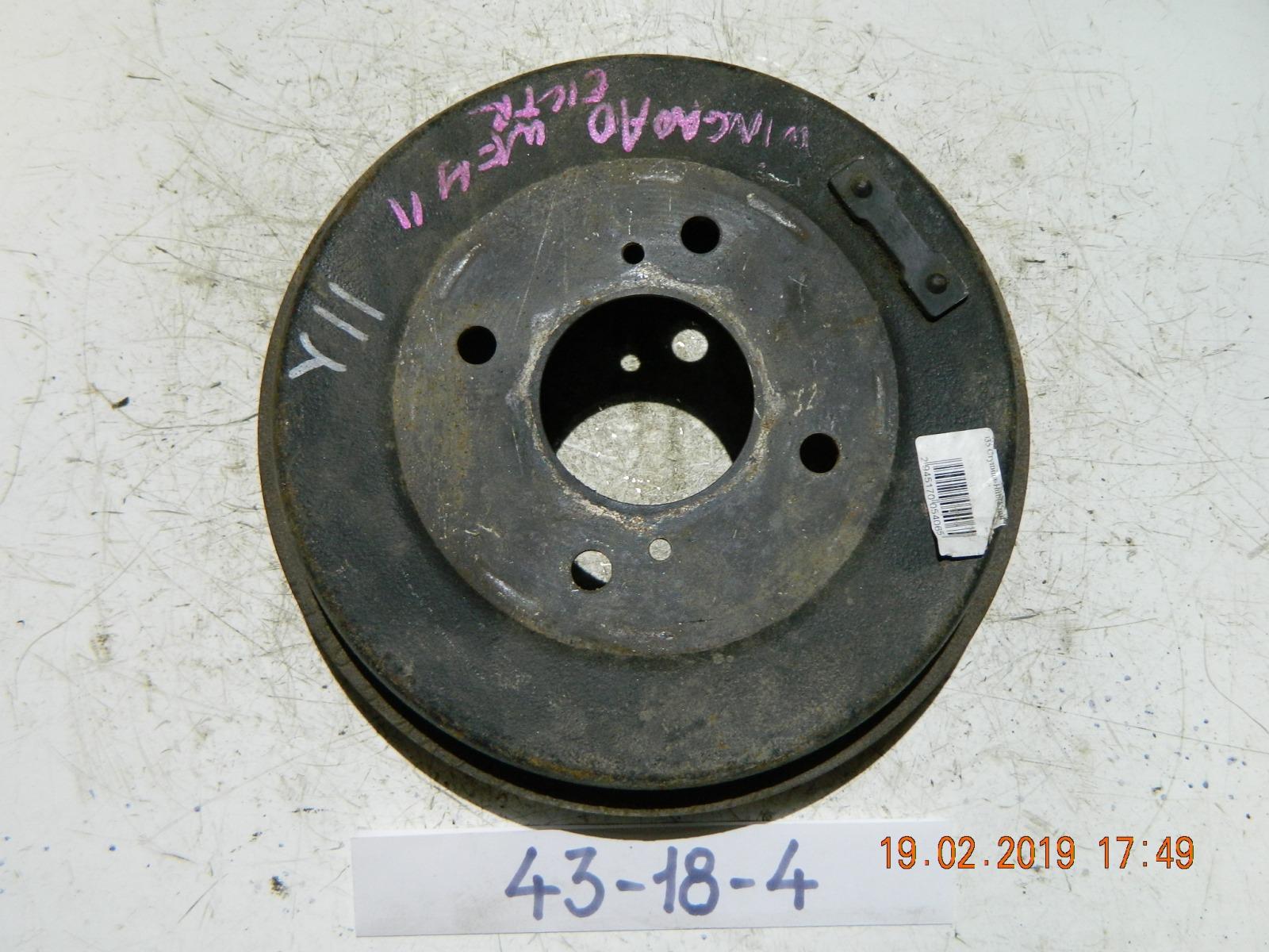Тормозной барабан Nissan Wingroad WFY11 (б/у)