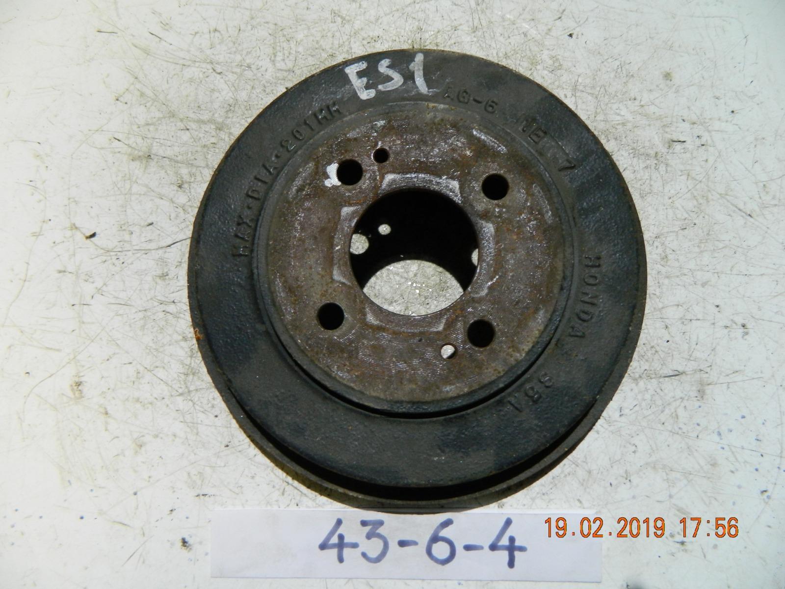 Тормозной барабан Honda Civic ES1 задний (б/у)
