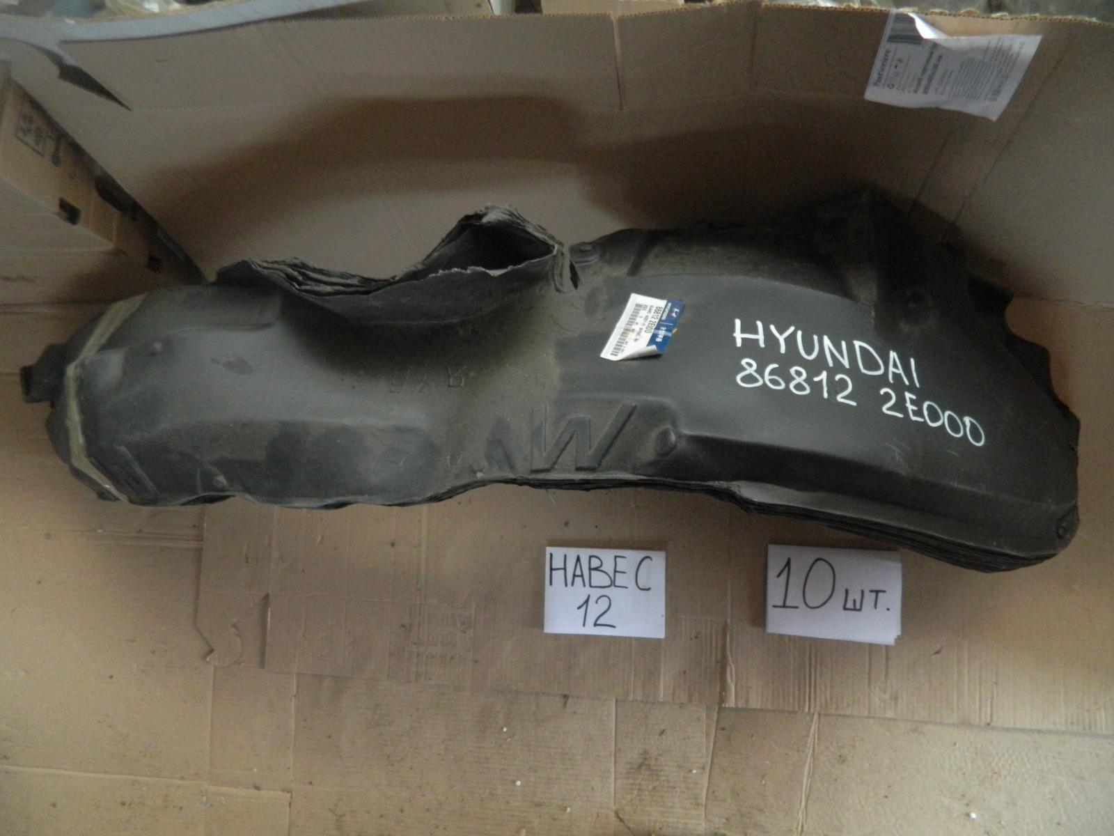 Подкрылок Hyundai Tucson передний правый (б/у)