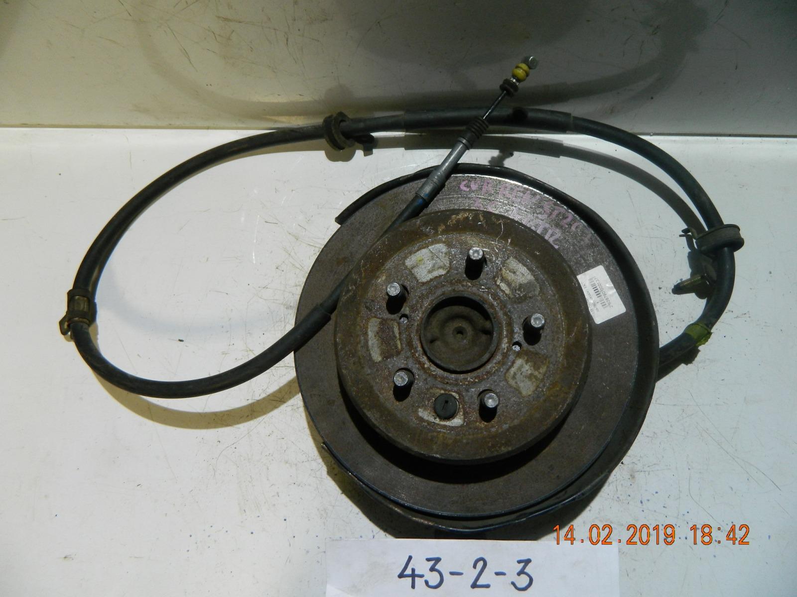 Трос ручника Toyota Curren ST202 задний правый (б/у)