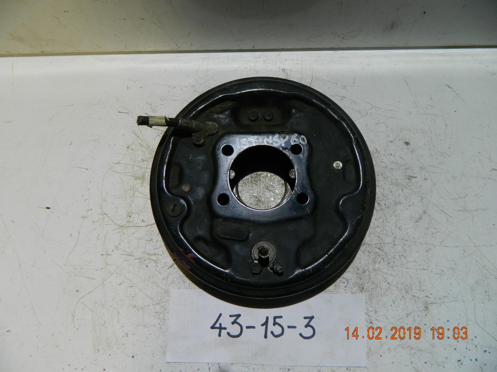 Тормозной барабан Toyota Ist NCP60 задний (б/у)