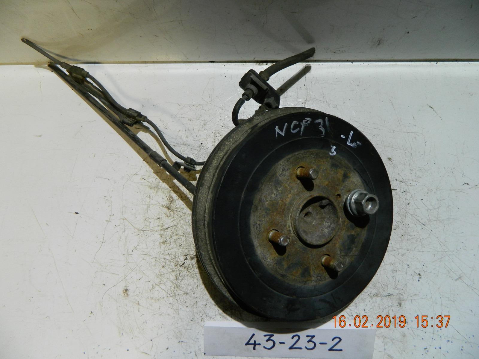 Ступица Toyota Bb NCP30 задняя (б/у)