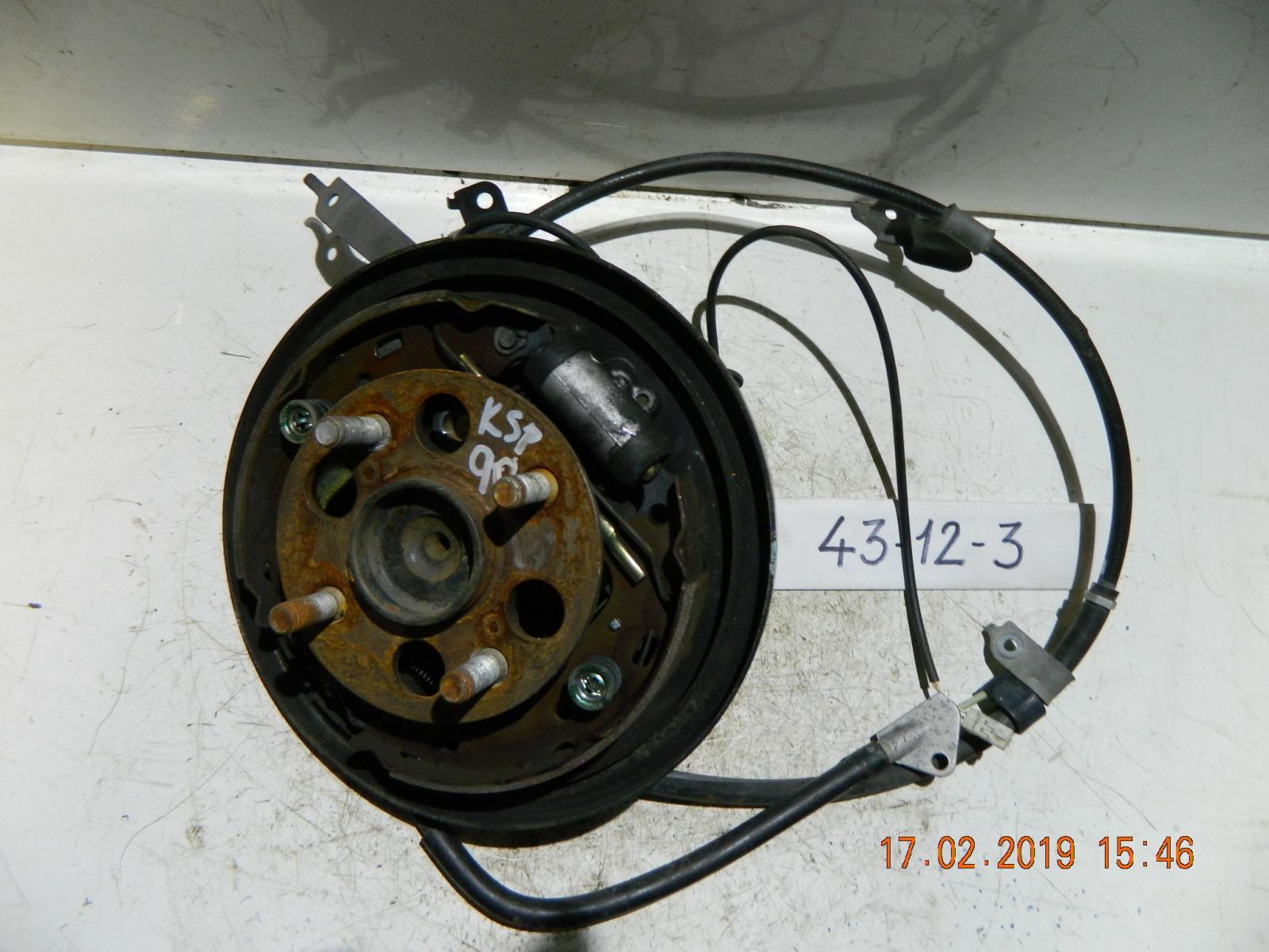 Трос ручника Toyota Vitz KSP90 задний (б/у)