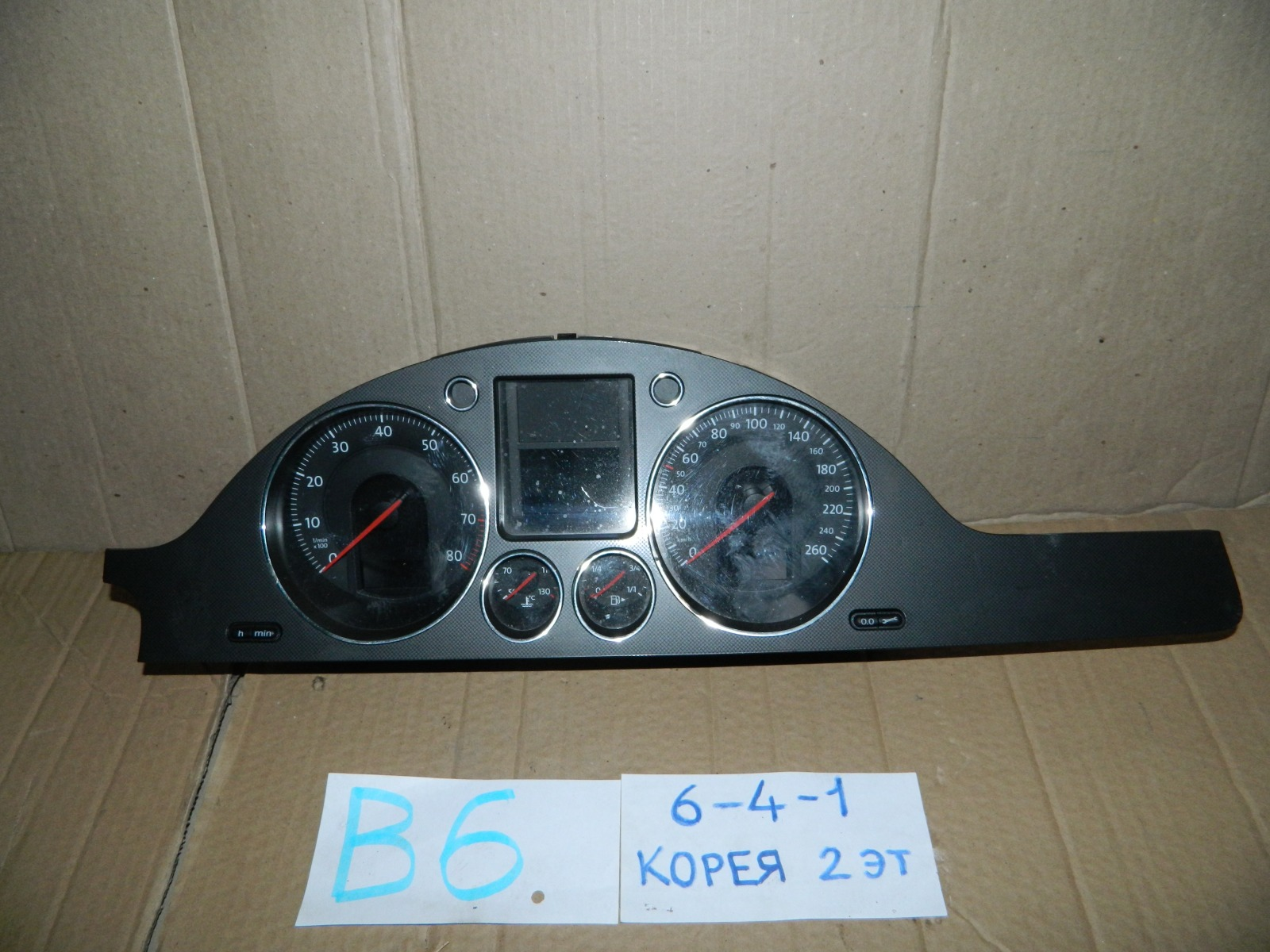 Панель приборов Volkswagen Passat  B6 2005 (б/у)