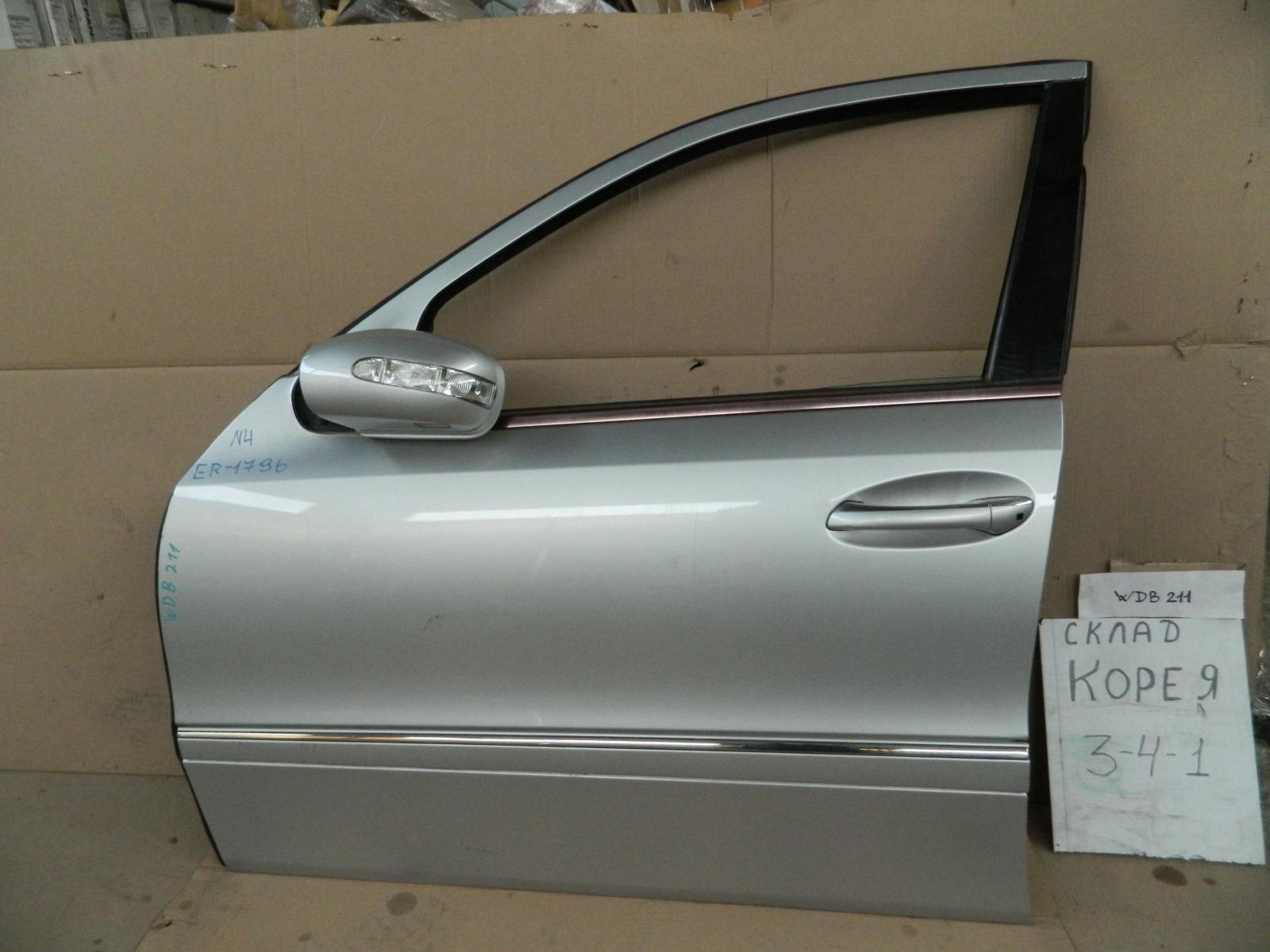 Дверь Mercedes-Benz E-Class W211 передняя левая (б/у)
