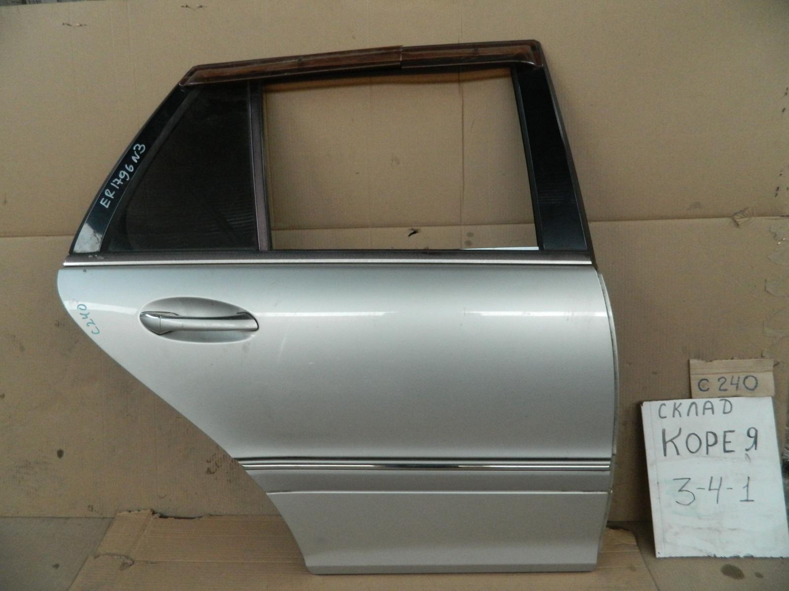 Дверь Mercedes-Benz C-Class W203 задняя правая (б/у)