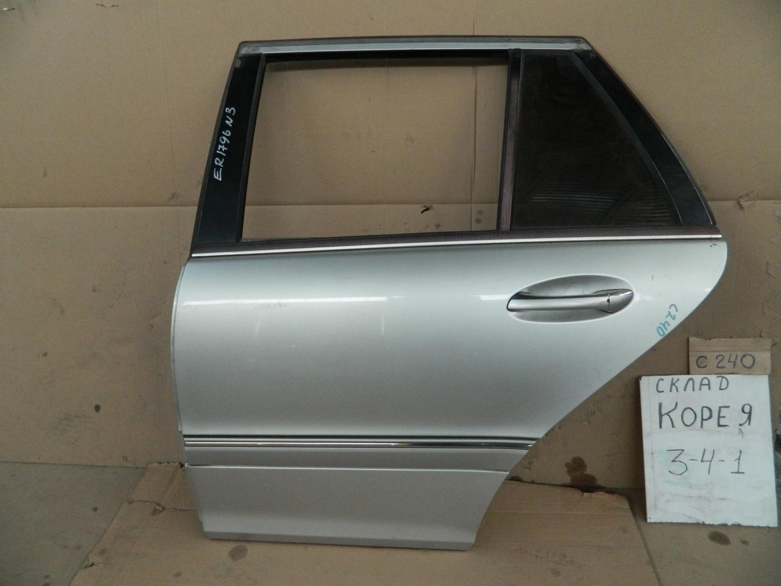 Дверь Mercedes-Benz C-Class W203 задняя левая (б/у)