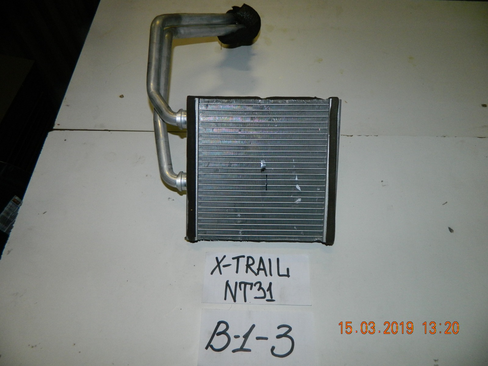 Радиатор печки Nissan X-Trail NT31 (б/у)
