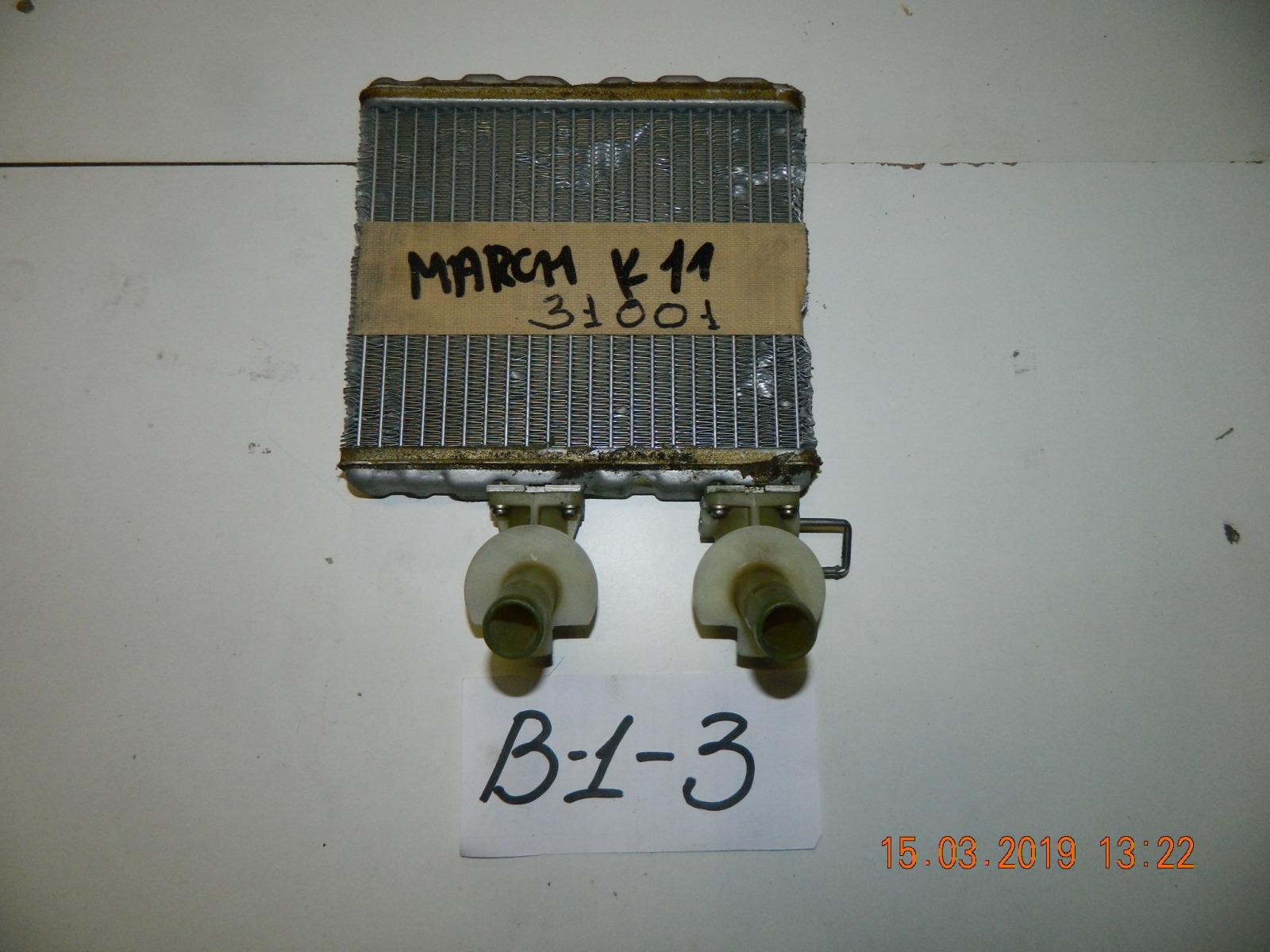 Радиатор печки Nissan March AK11 (б/у)