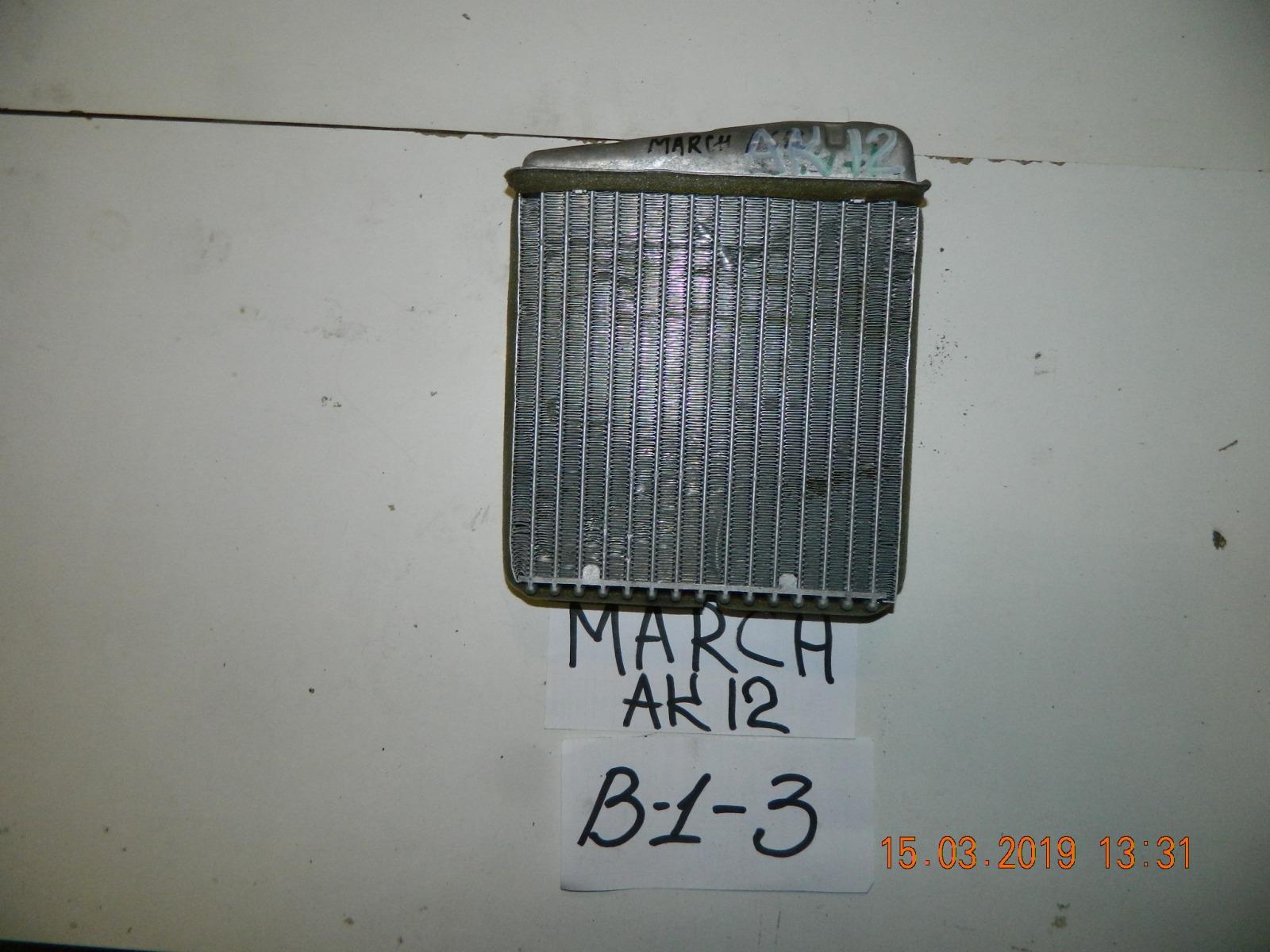 Радиатор печки Nissan March AK12 (б/у)
