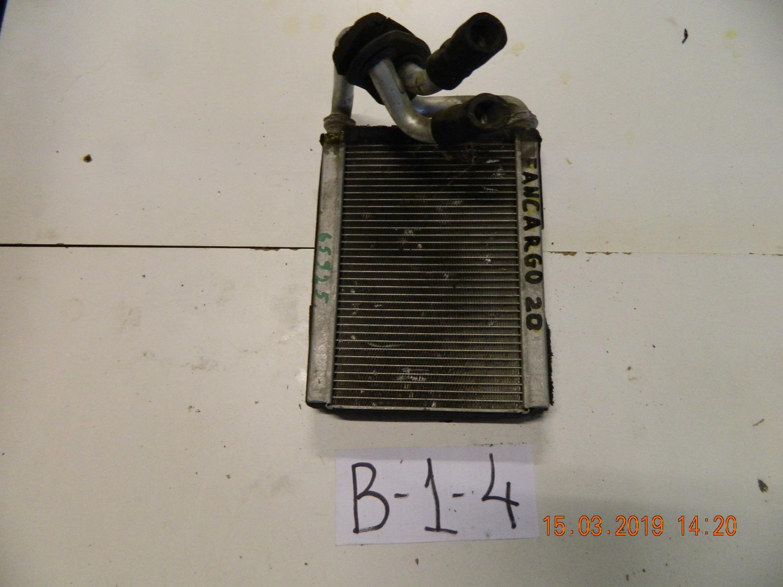 Радиатор печки Toyota Funcargo NCP20 (б/у)