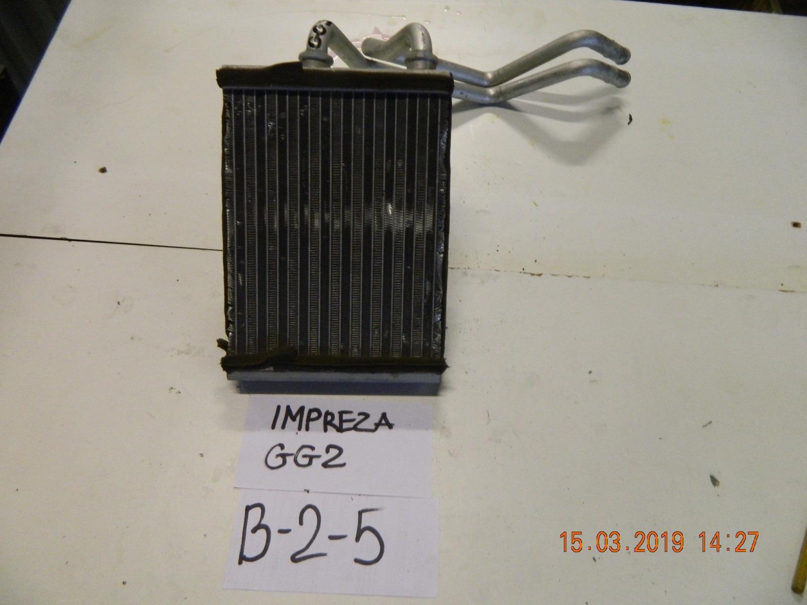 Радиатор печки Subaru Impreza GG (б/у)