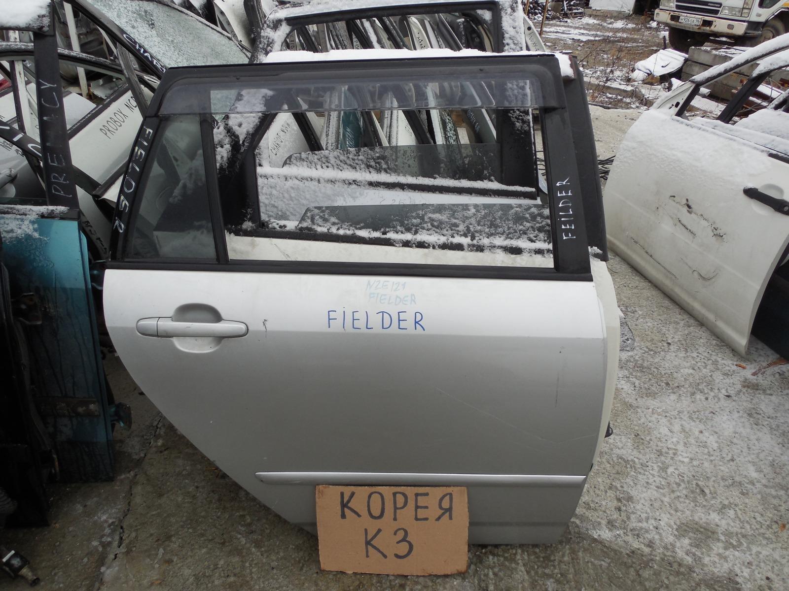 Дверь Toyota Fielder NZE124 задняя правая (б/у)