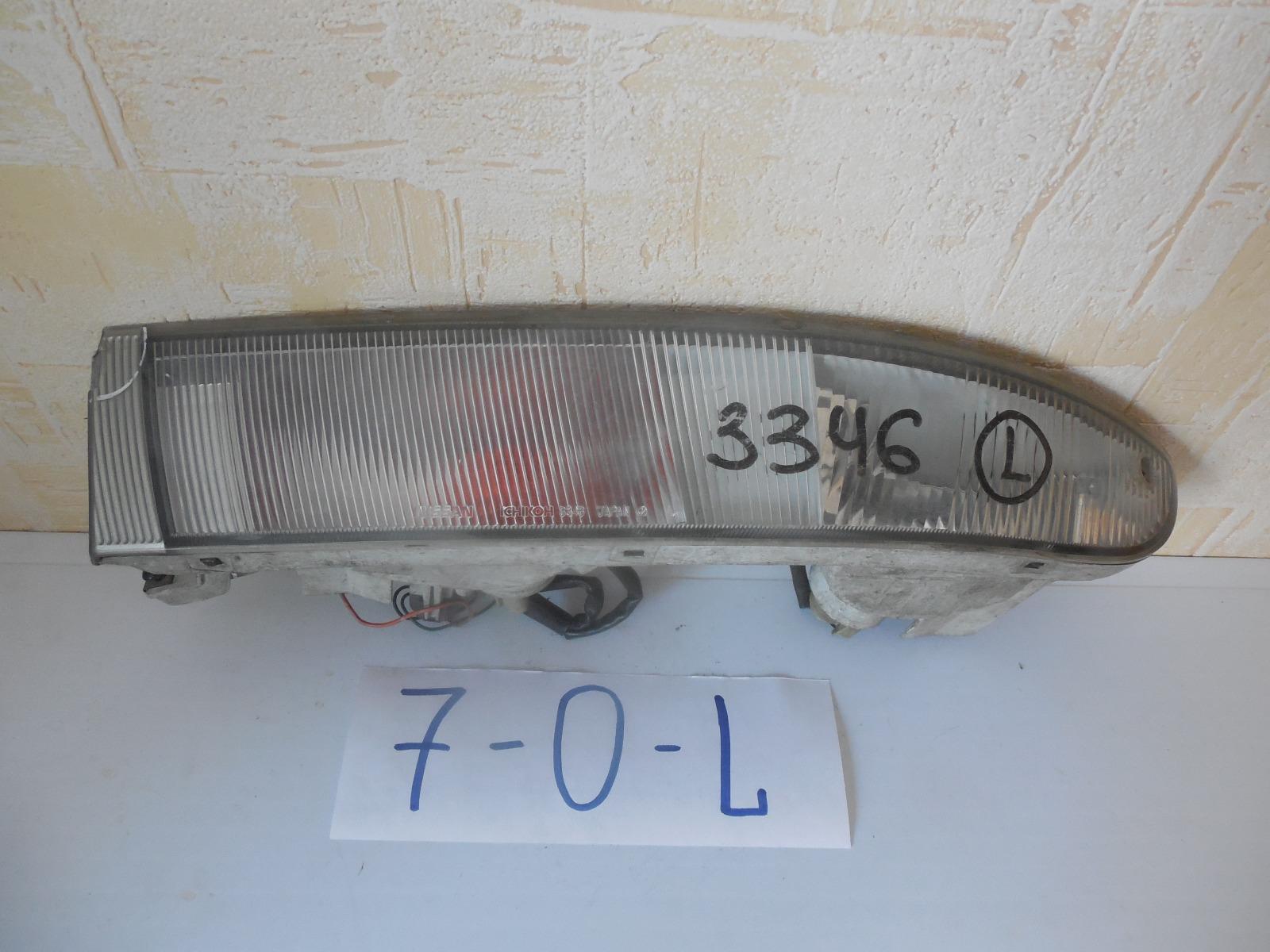 Фара противотуманная Toyota Estima Lucida передняя левая (б/у)