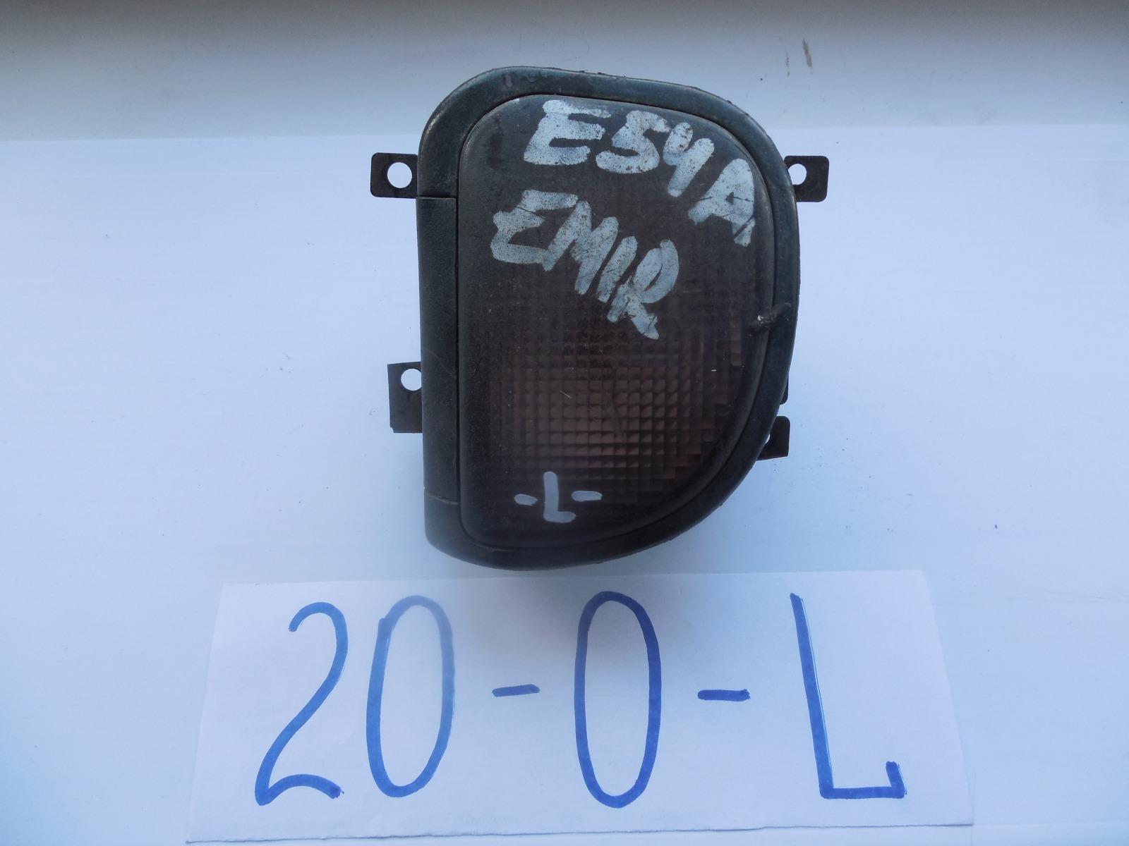 Фара противотуманная Mitsubishi Emeraude E53A передняя левая (б/у)