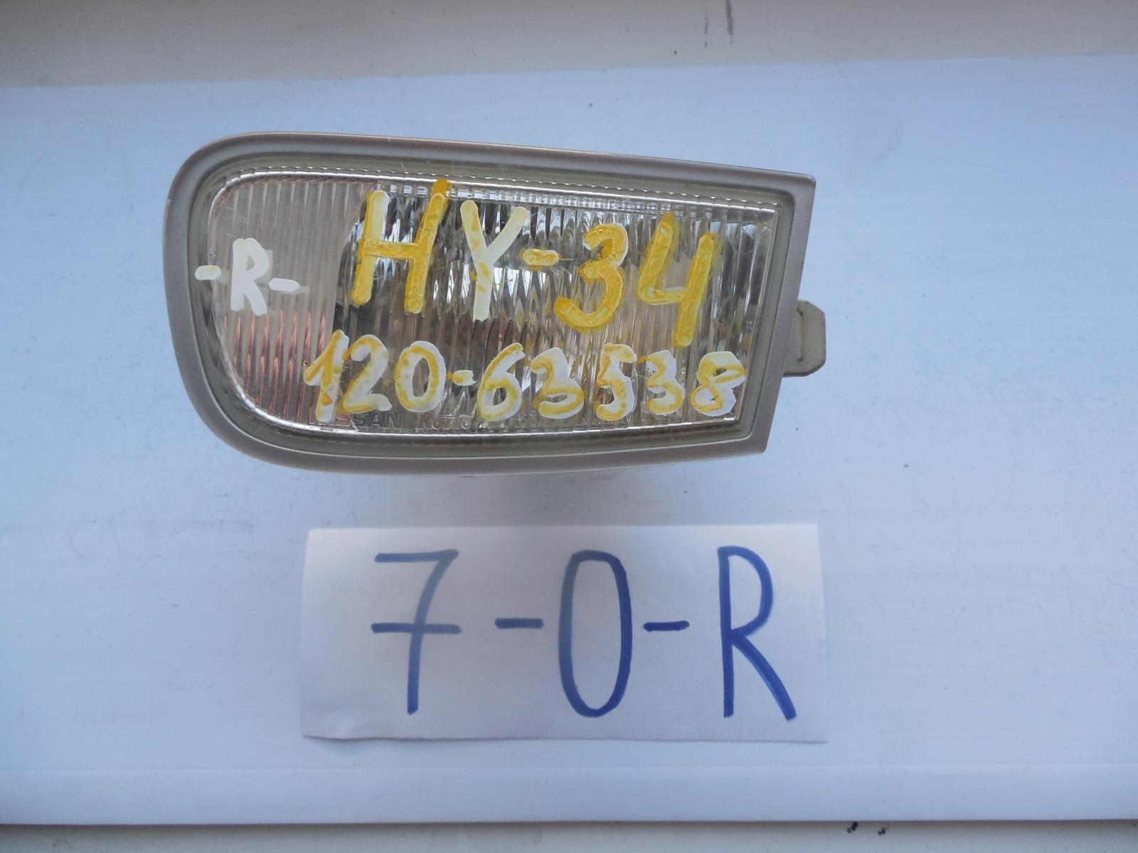 Фара противотуманная Nissan Cedric HY33 (б/у)