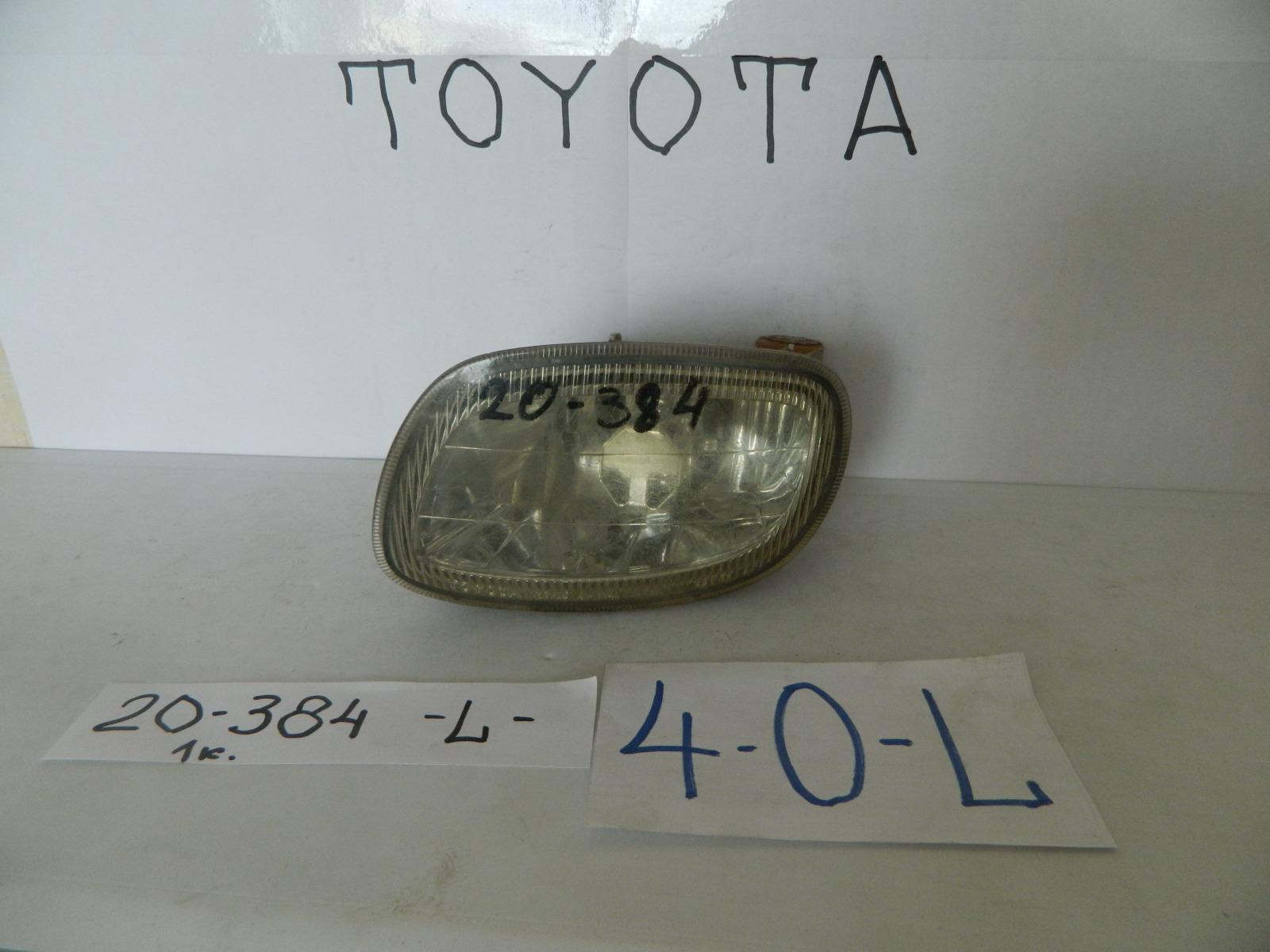 Фара противотуманная Toyota Carina AT210 передняя левая (б/у)
