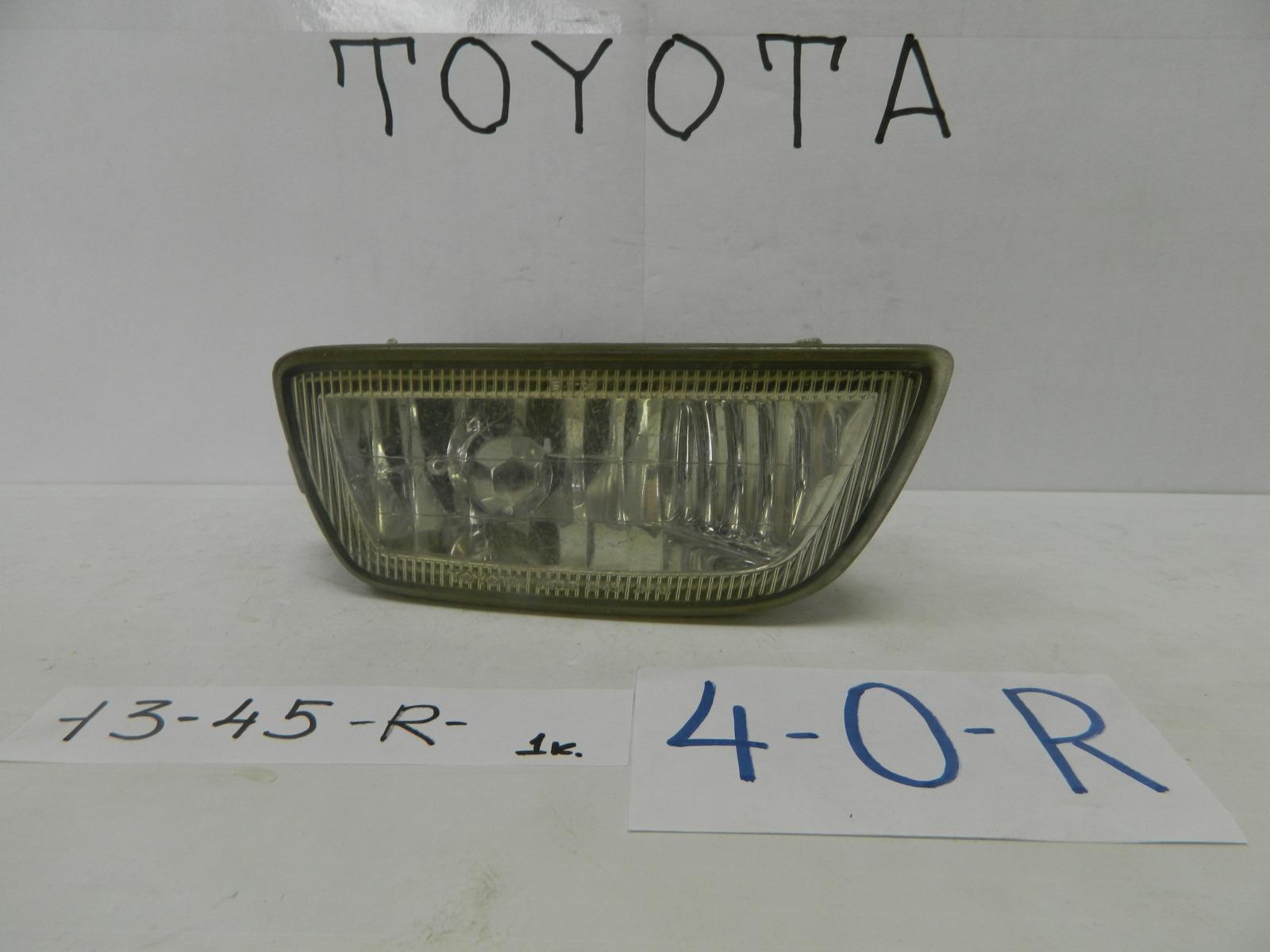 Фара противотуманная Toyota Carib AE115 передняя правая (б/у)