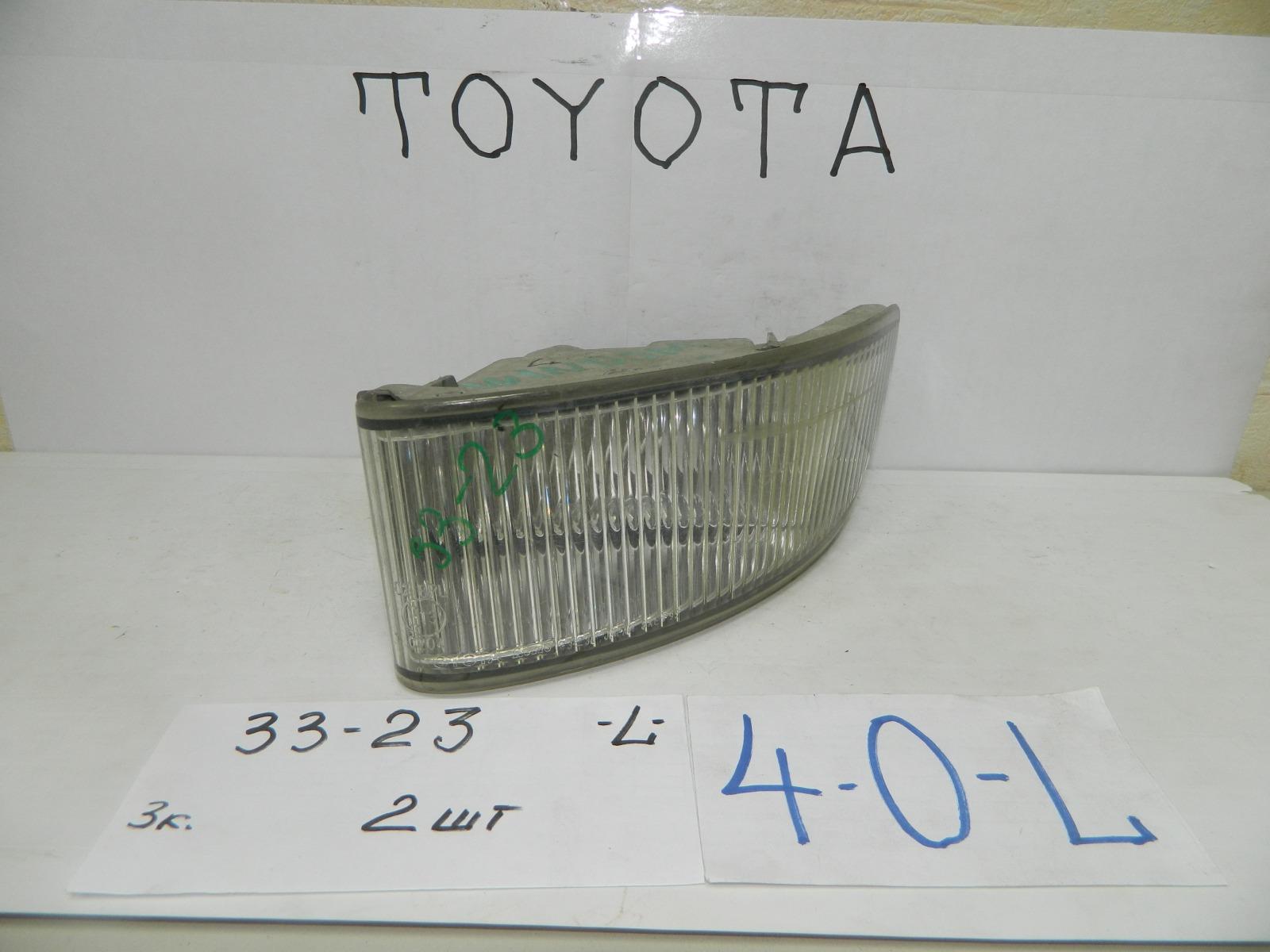 Фара противотуманная Toyota Windom MCV20 передняя левая (б/у)
