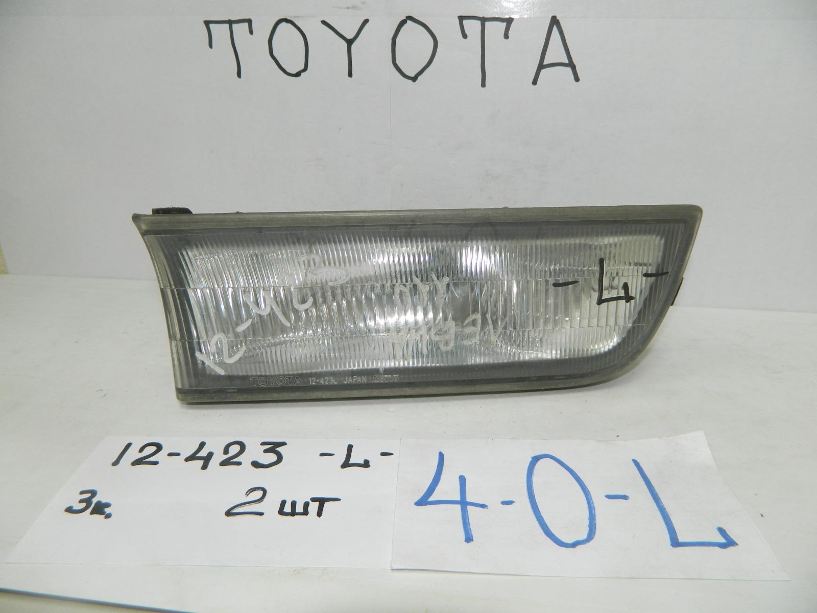 Фара противотуманная Toyota Corolla Levin AE110 передняя левая (б/у)