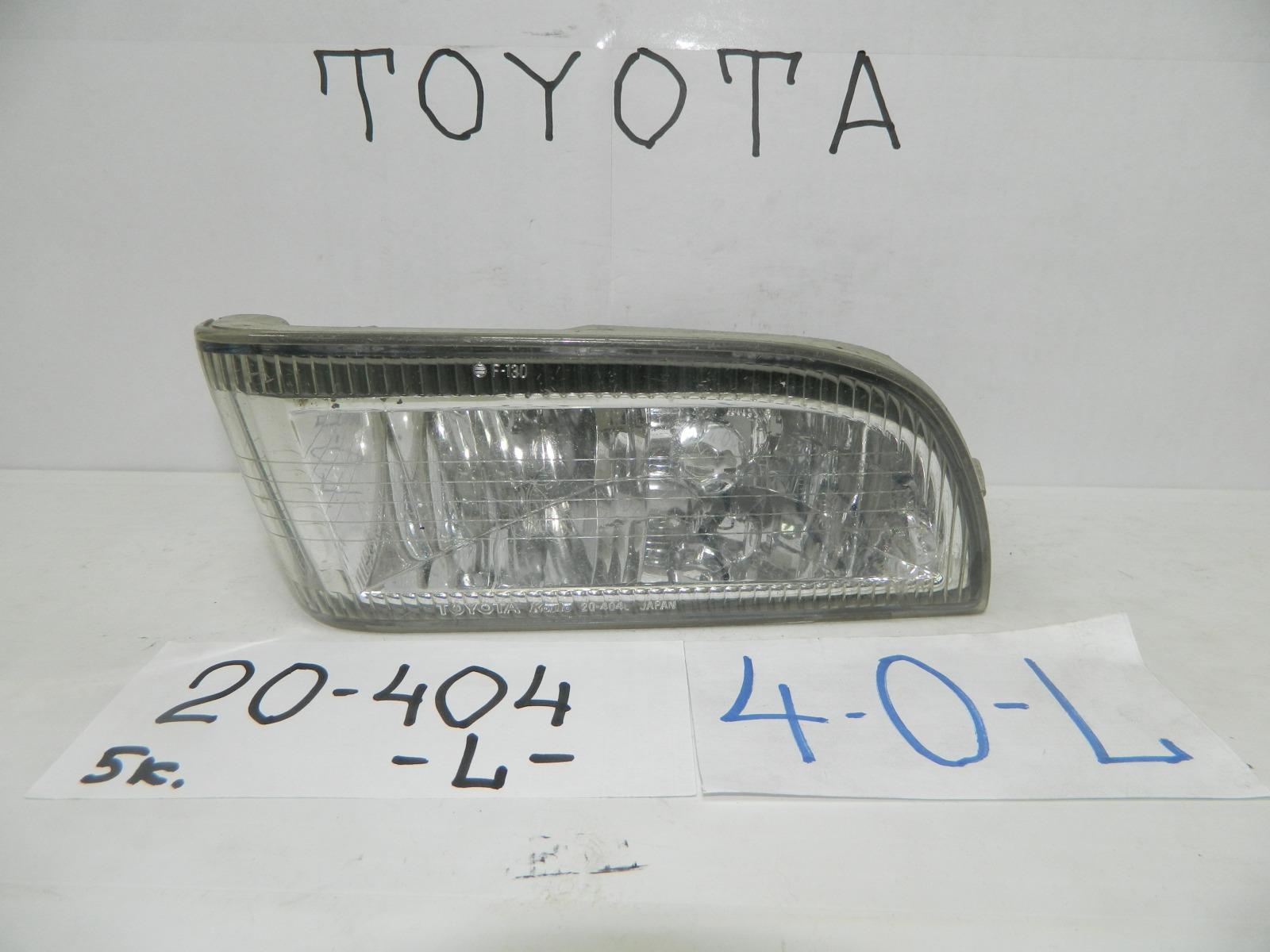 Фара противотуманная Toyota Carina ST210 передняя левая (б/у)