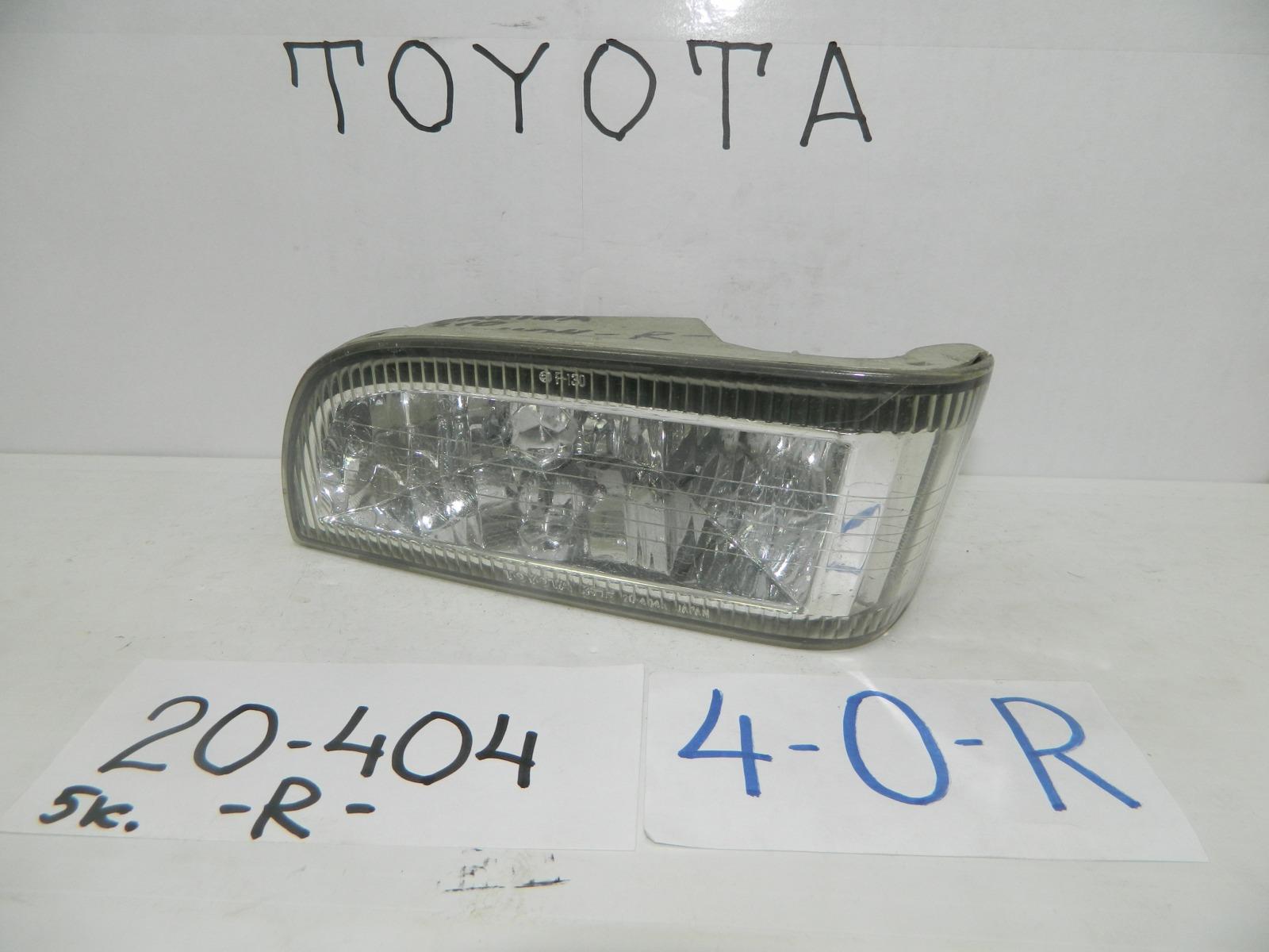 Фара противотуманная Toyota Carina ST210 передняя правая (б/у)