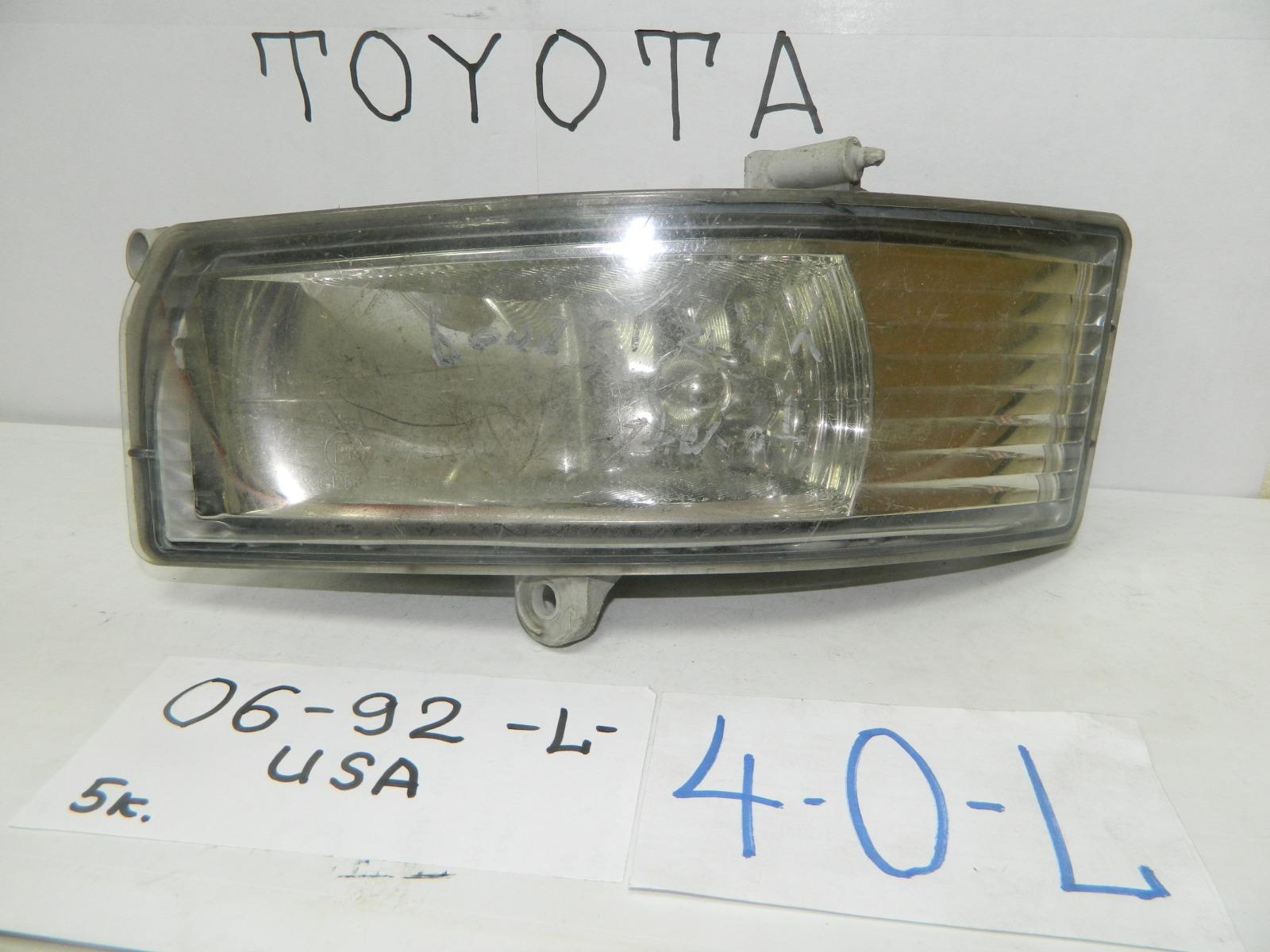 Фара противотуманная Toyota Camry ACV30 передняя (б/у)