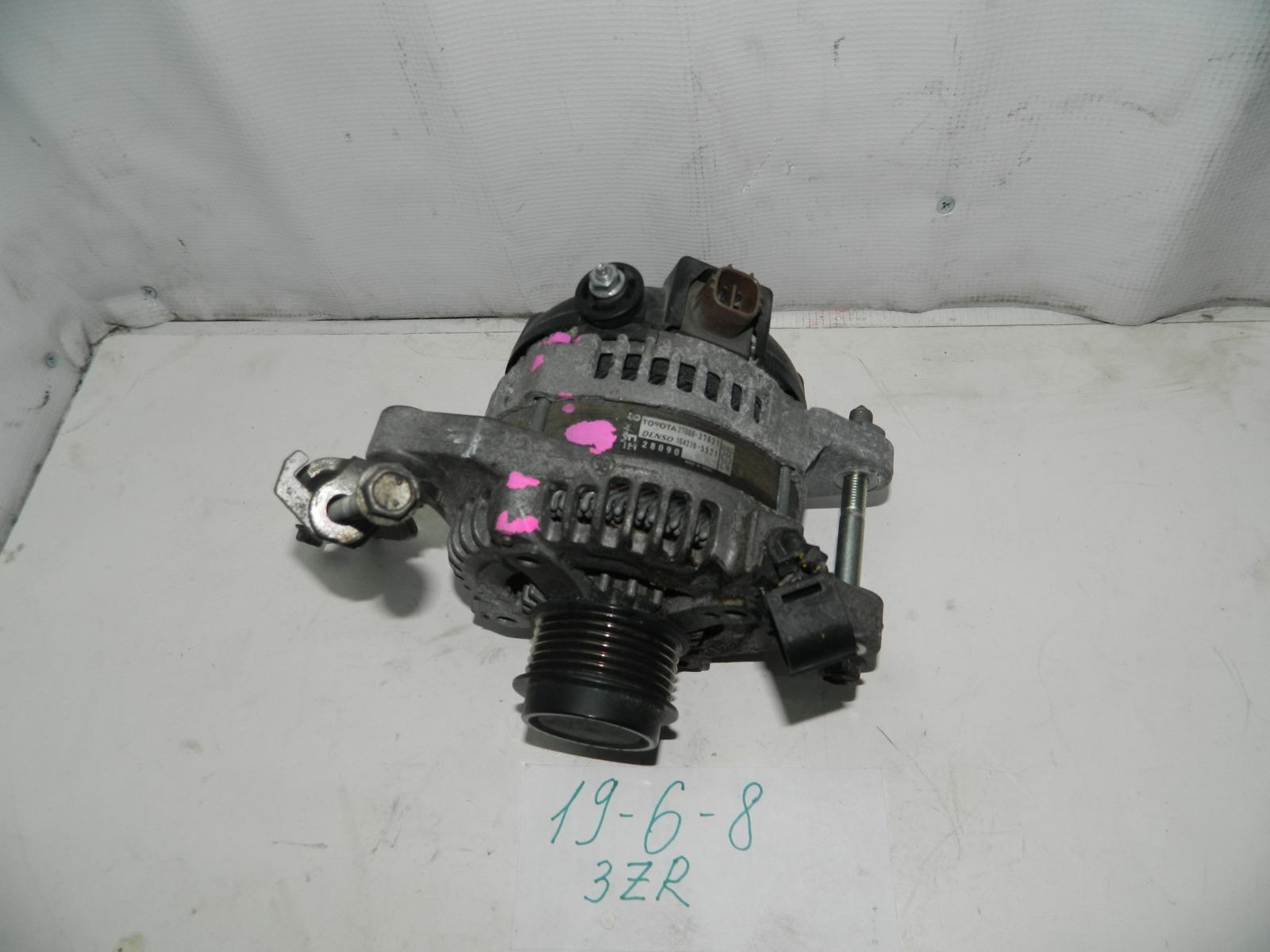 Генератор Toyota Voxy ZRR70 3ZRFAE (б/у)