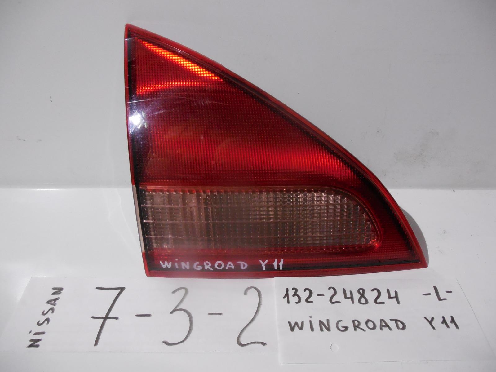 Вставка между стопов Nissan Wingroad Y11 задняя левая (б/у)