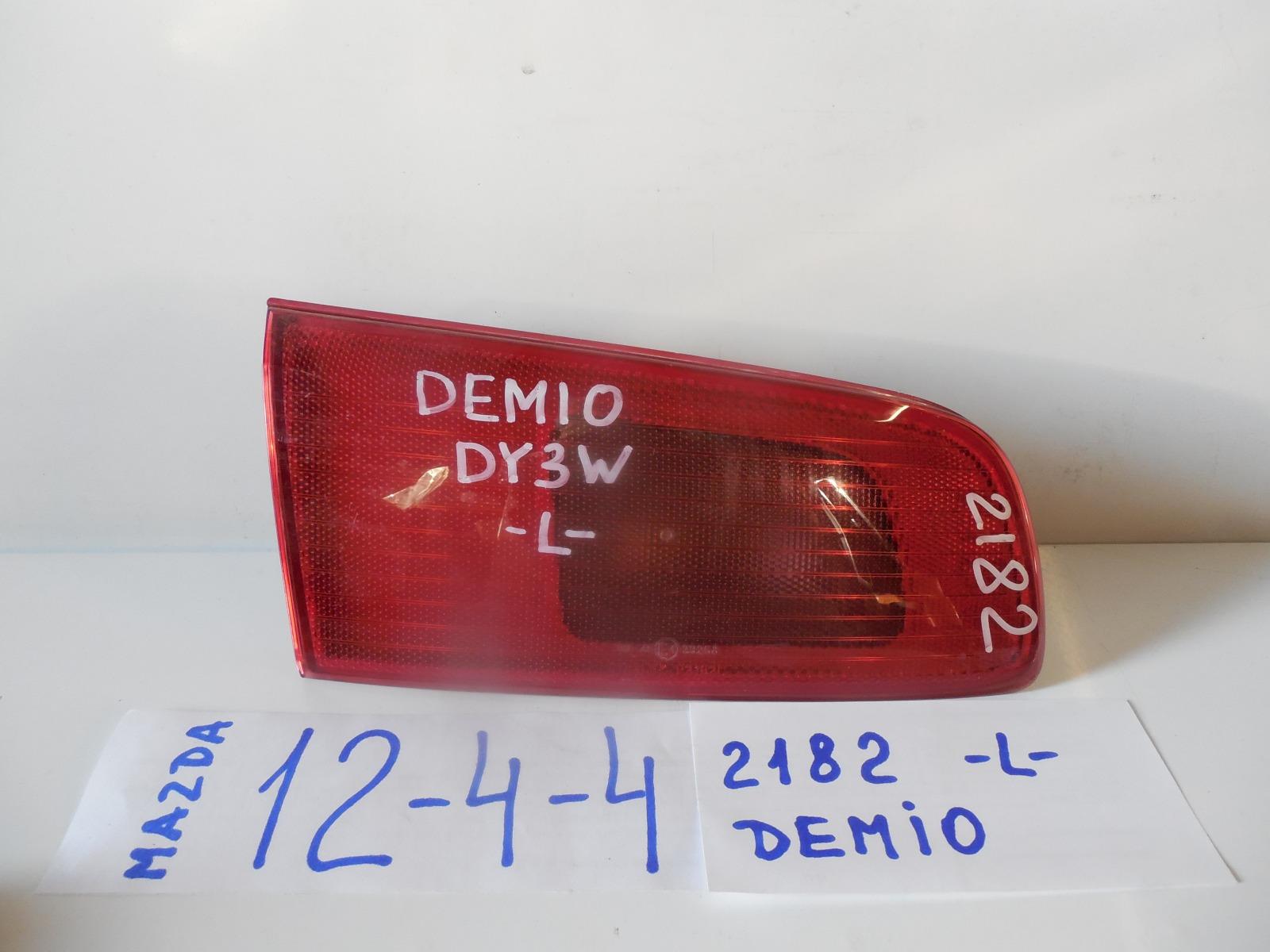 Вставка между стопов Mazda Demio DY3W задняя левая (б/у)