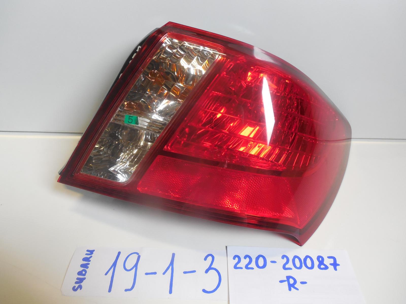 Фонарь Subaru Impreza GE7 задний правый (б/у)