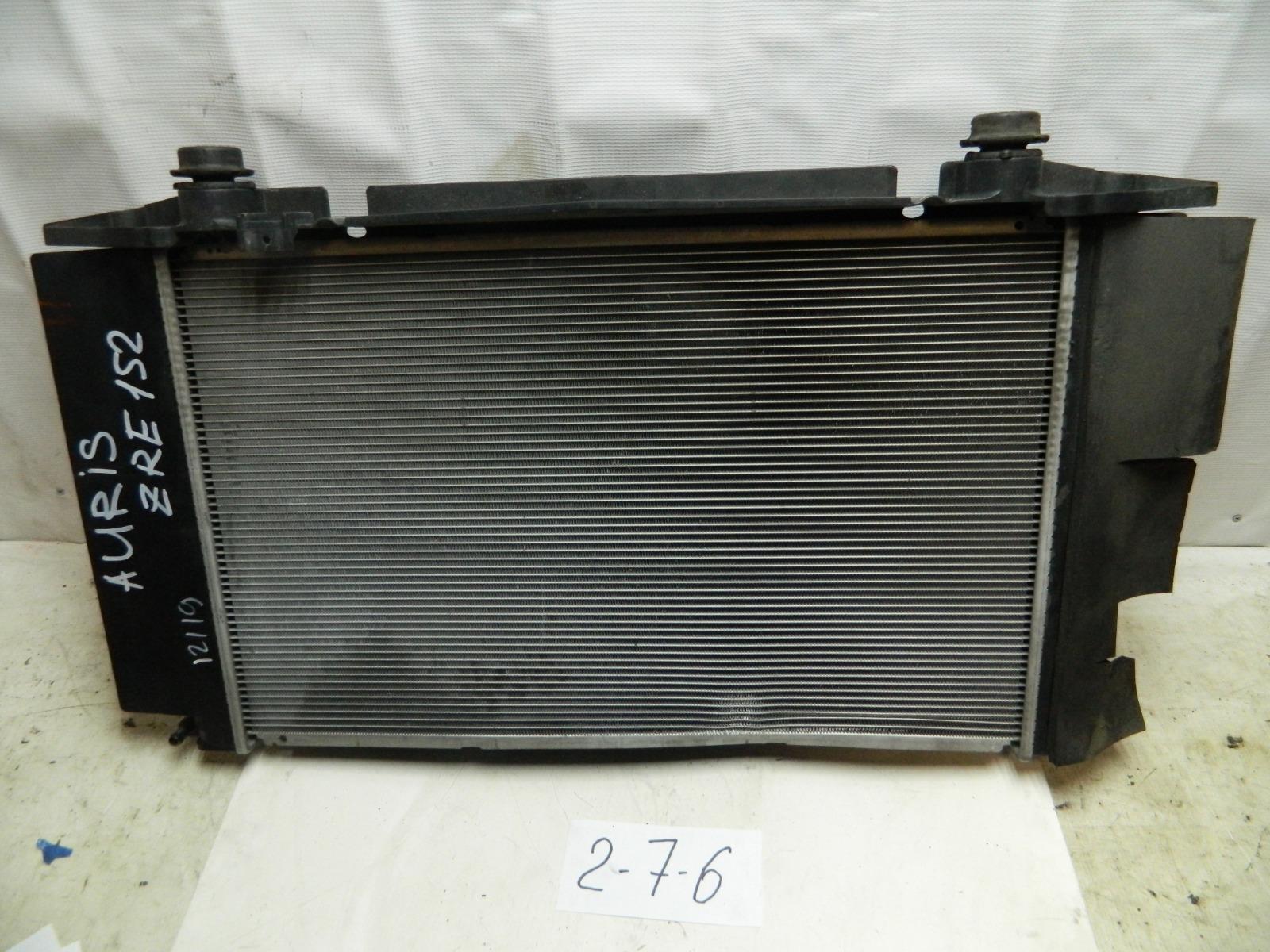 Радиатор двс Toyota Auris ZRE152 2ZR (б/у)
