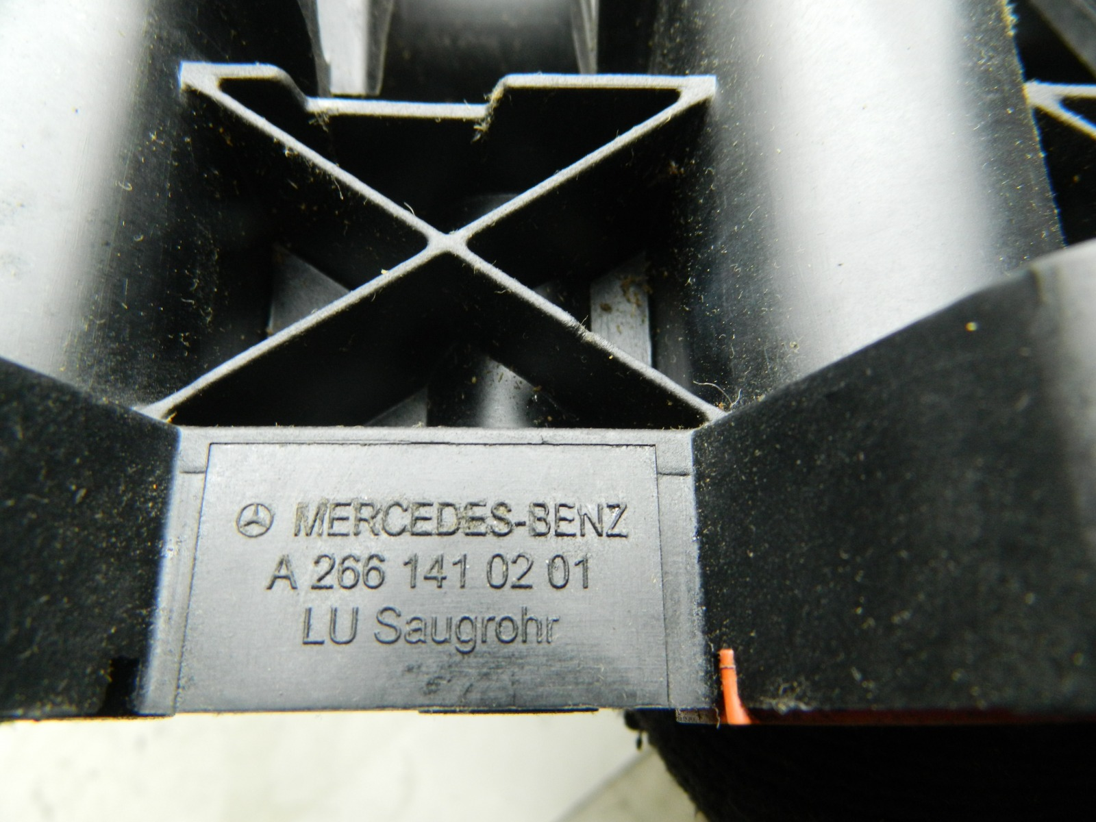 Коллектор впускной Mercedes-Benz A-Class A-168 (б/у)