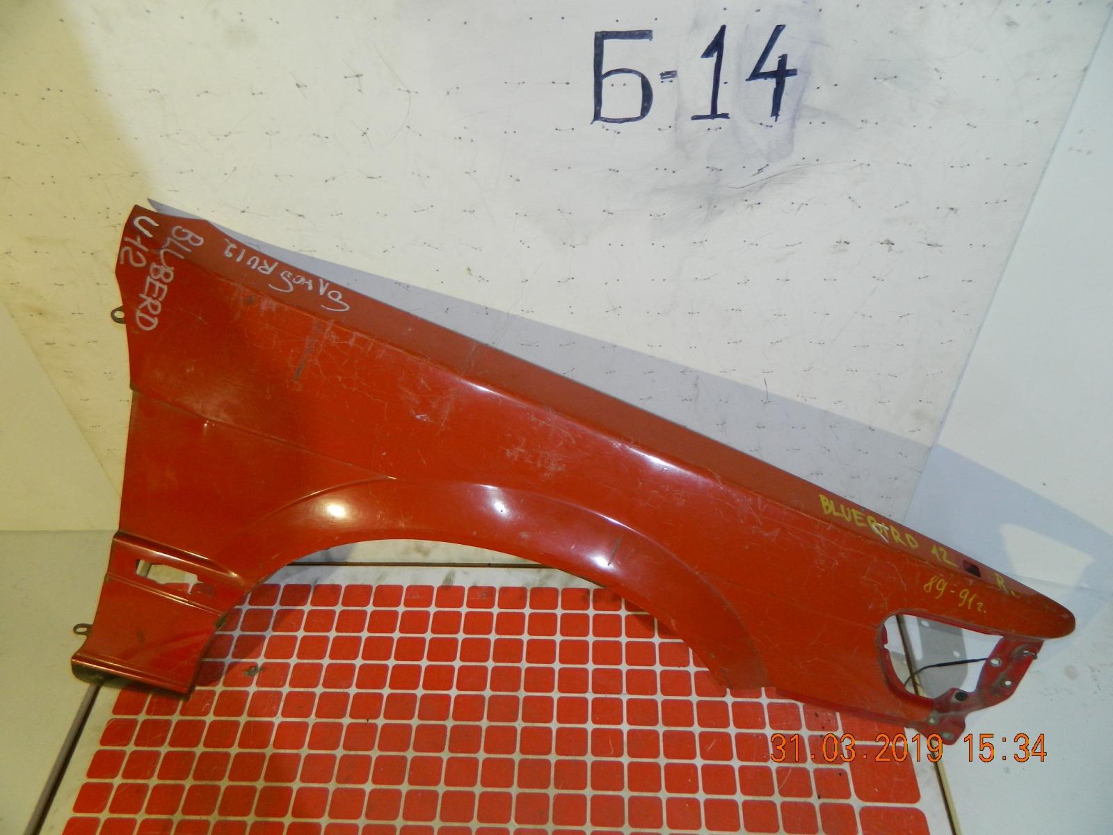 Крыло Nissan Bluebird EU12 переднее правое (б/у)