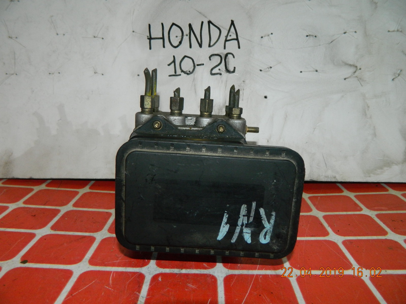 Блок abs Honda Stream RN1 (б/у)