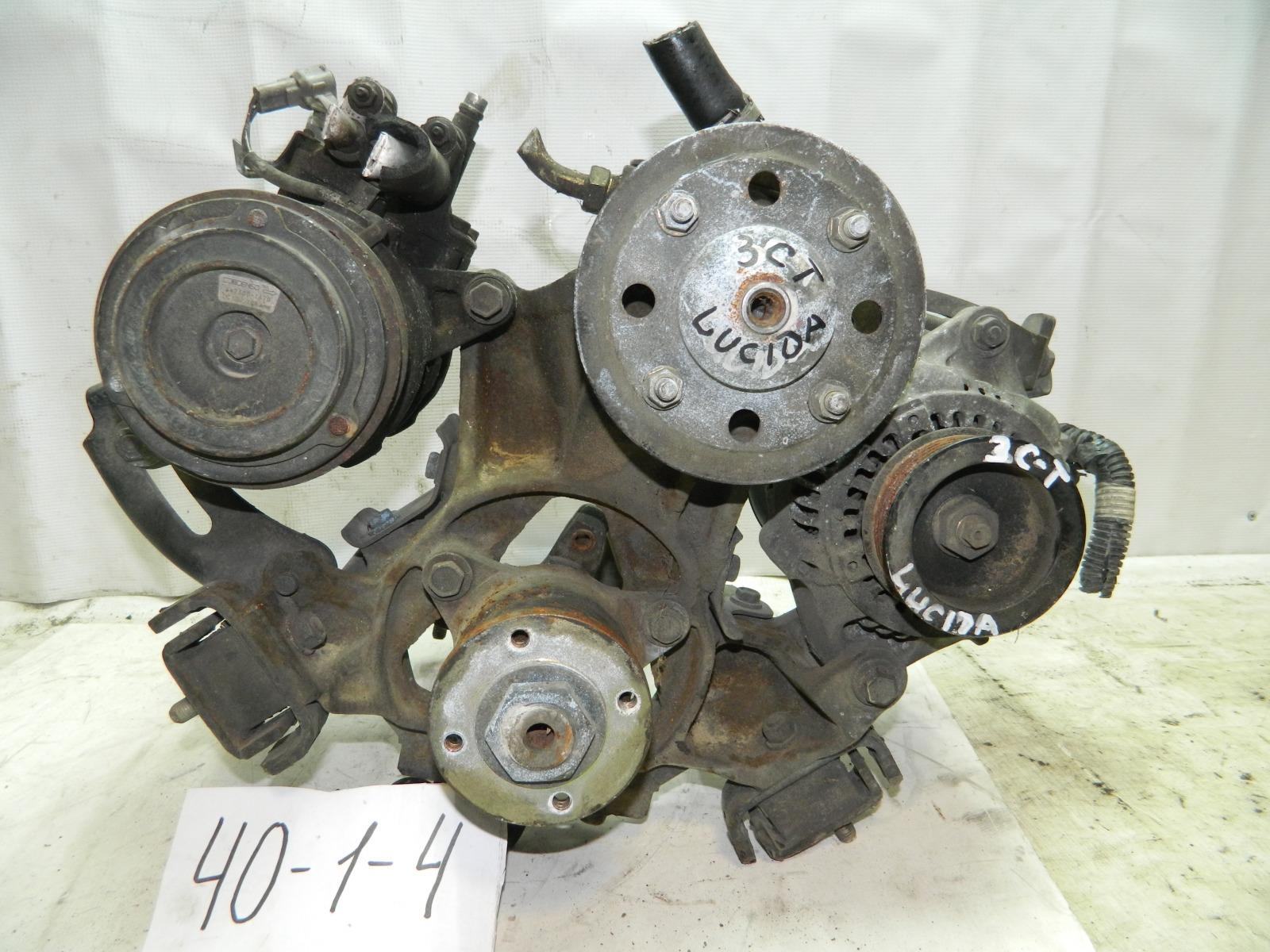 Компрессор кондиционера Toyota Estima Lucida CXR20 3C (б/у)