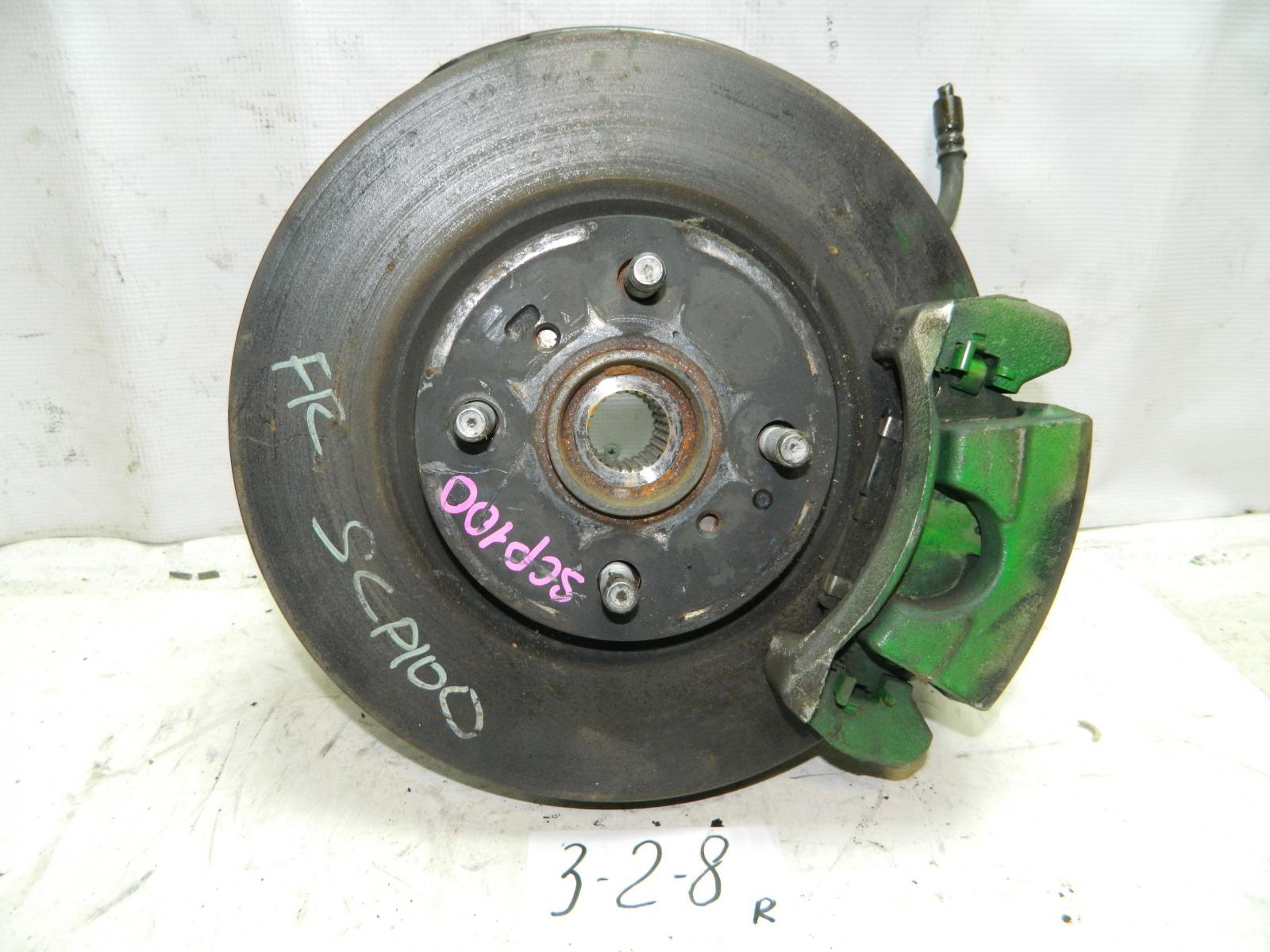 Ступица Toyota Ractis NCP100 передняя правая (б/у)