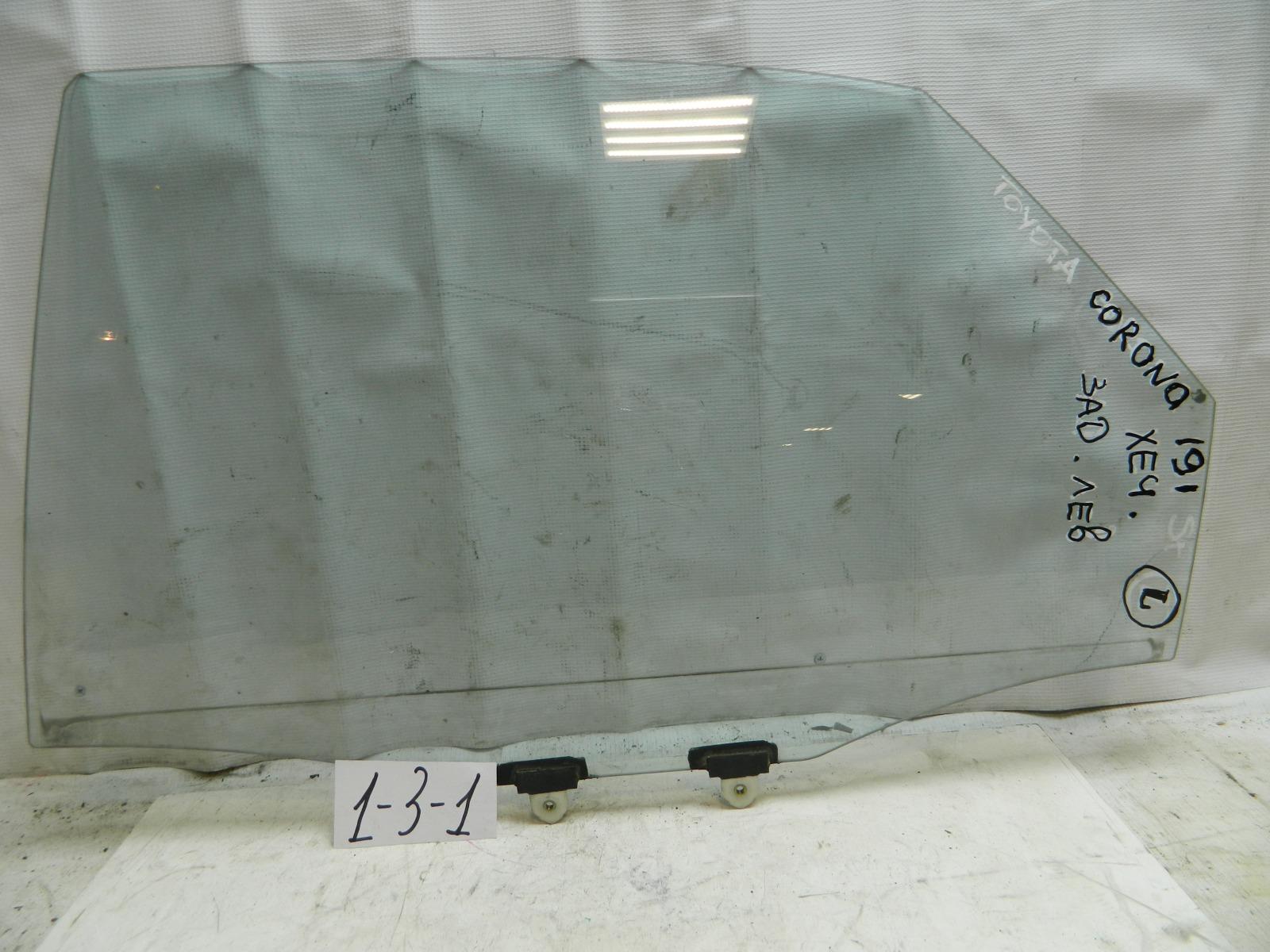 Стекло двери Toyota Corona Sf ST190 заднее левое (б/у)